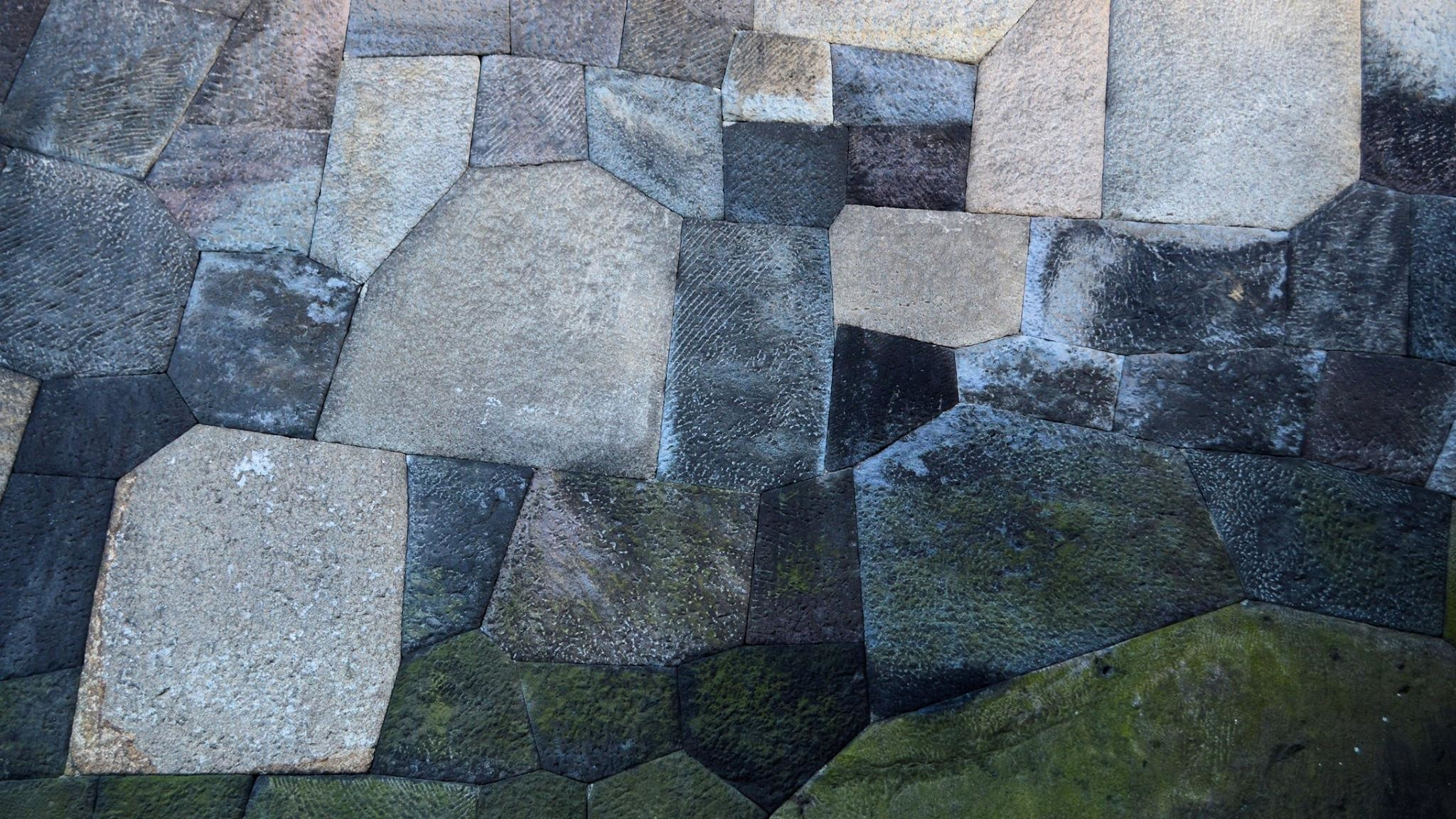 Res: 2048x1152, Japanese Castle Wall ...