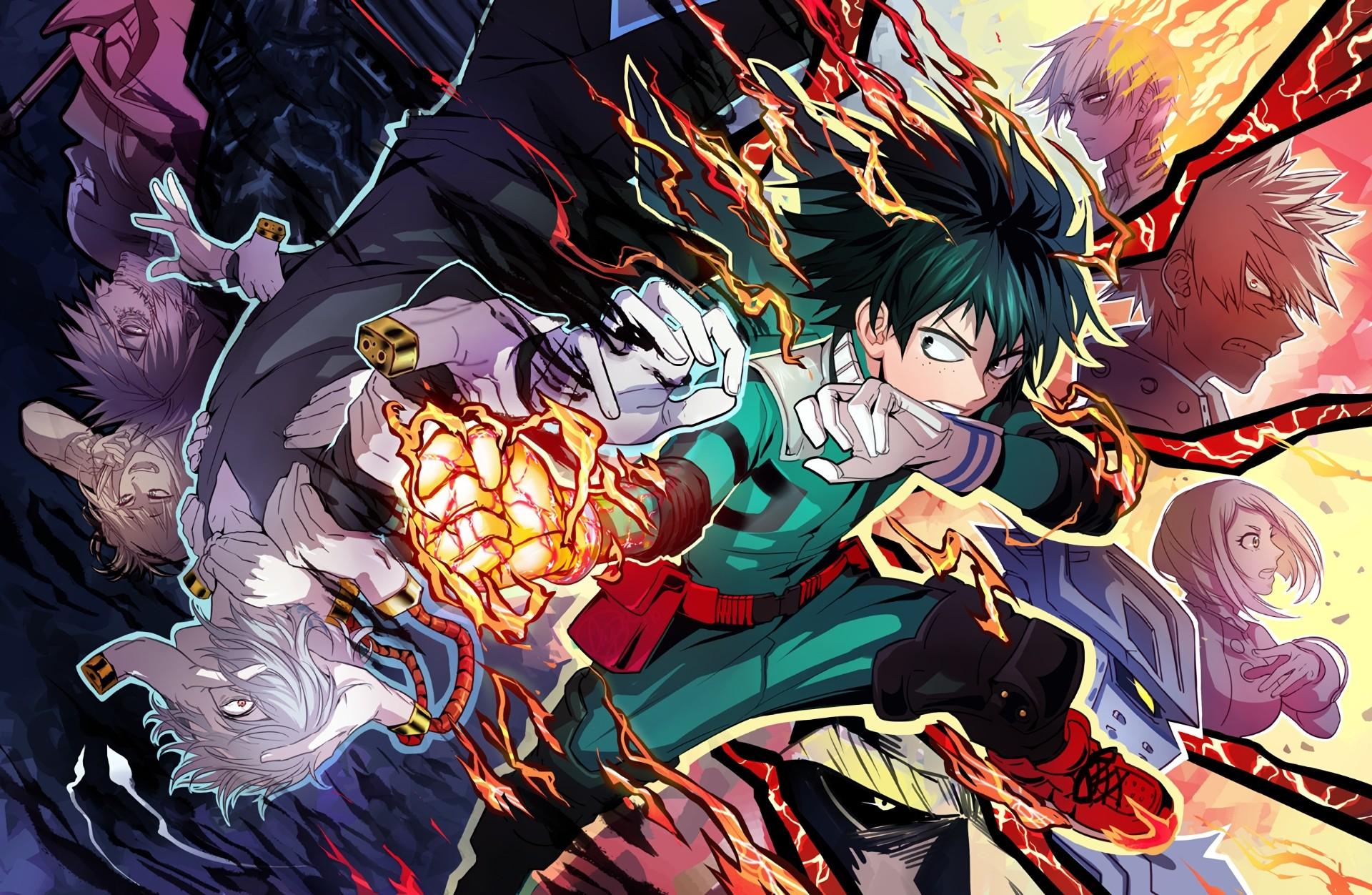 Res: 1920x1252, Best of My Hero Academia Anime Desktop Wallpaper Gallery - HD Wallpaper