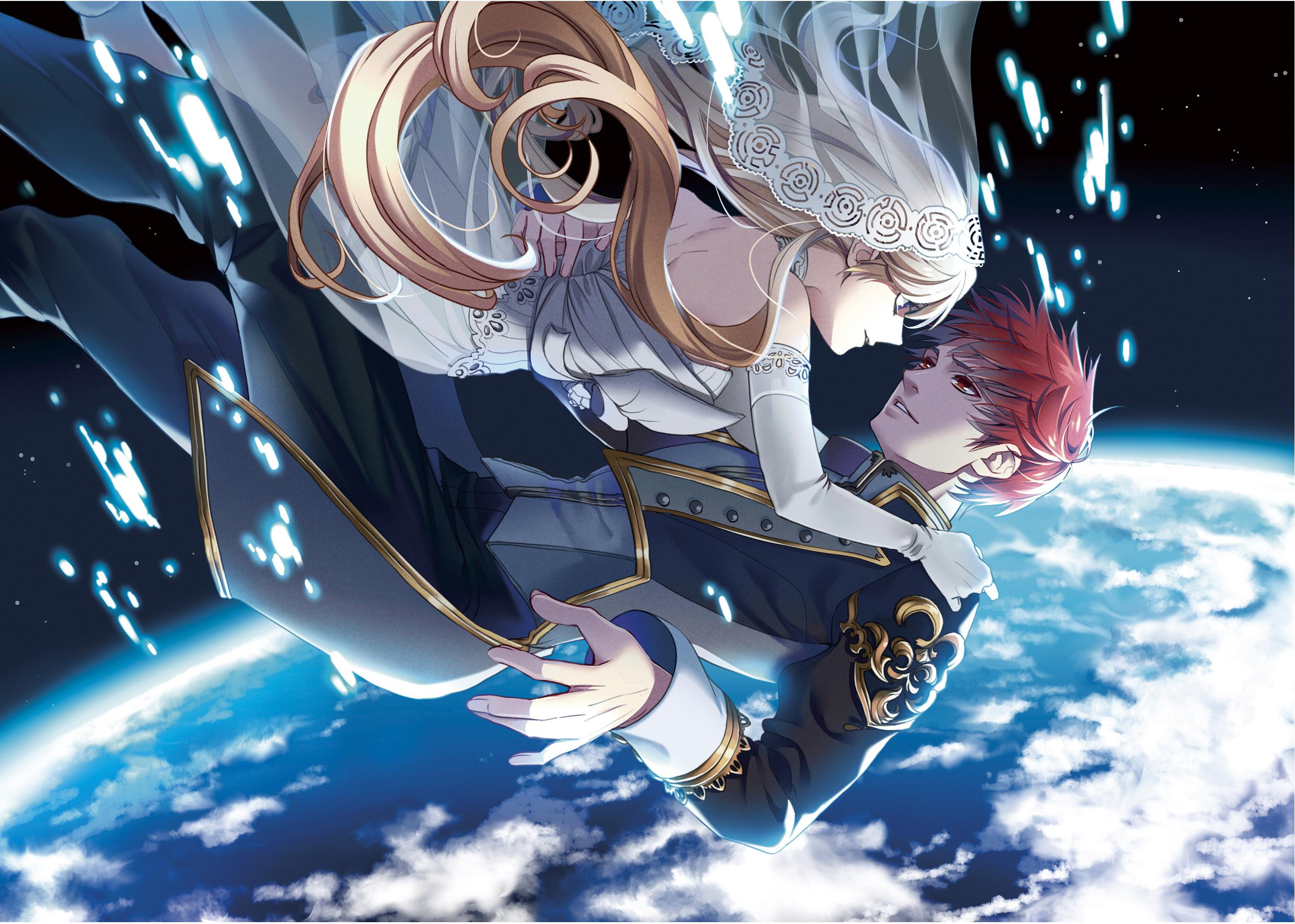 Res: 2836x2024, Anime Girl And Boy Wallpaper Desktop Background #PLG