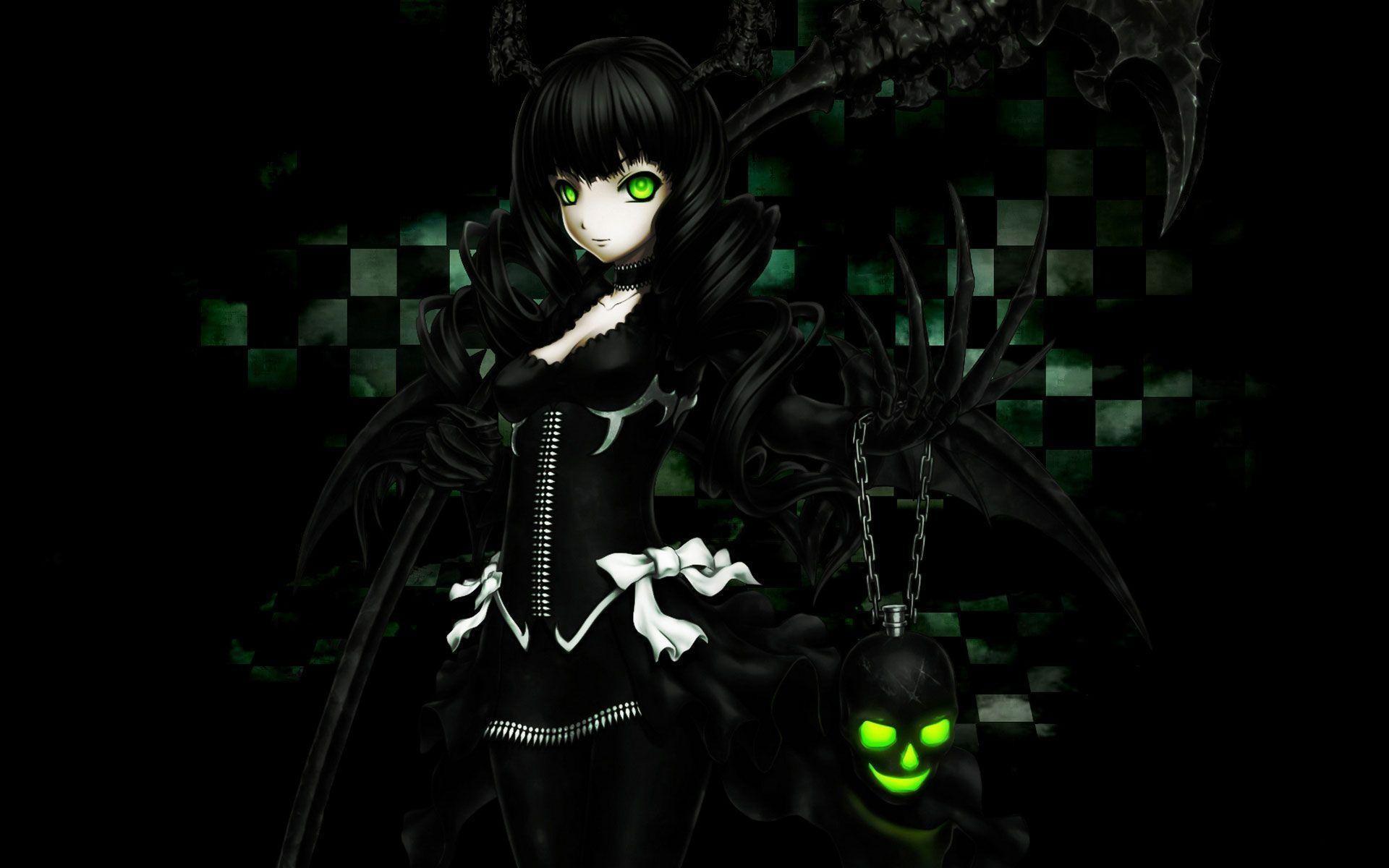 Res: 1920x1200, Dark Anime Desktop Wallpaper HD Resolution - dlwallhd.