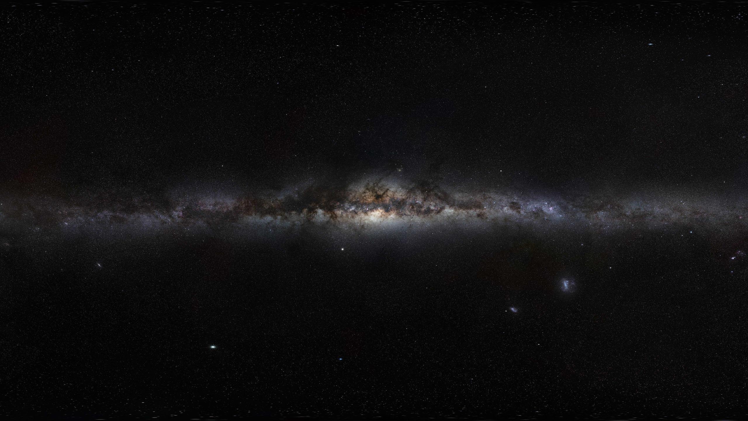 Res: 2560x1440, Dark Space Wallpaper
