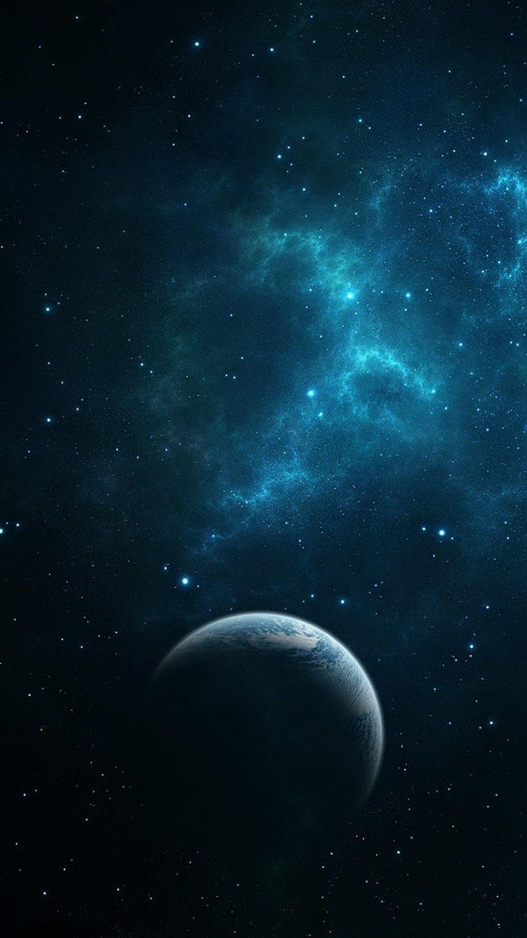 Res: 1080x1920, wallpaper | Dark Blue Space Galaxy S4 Wallpaper,