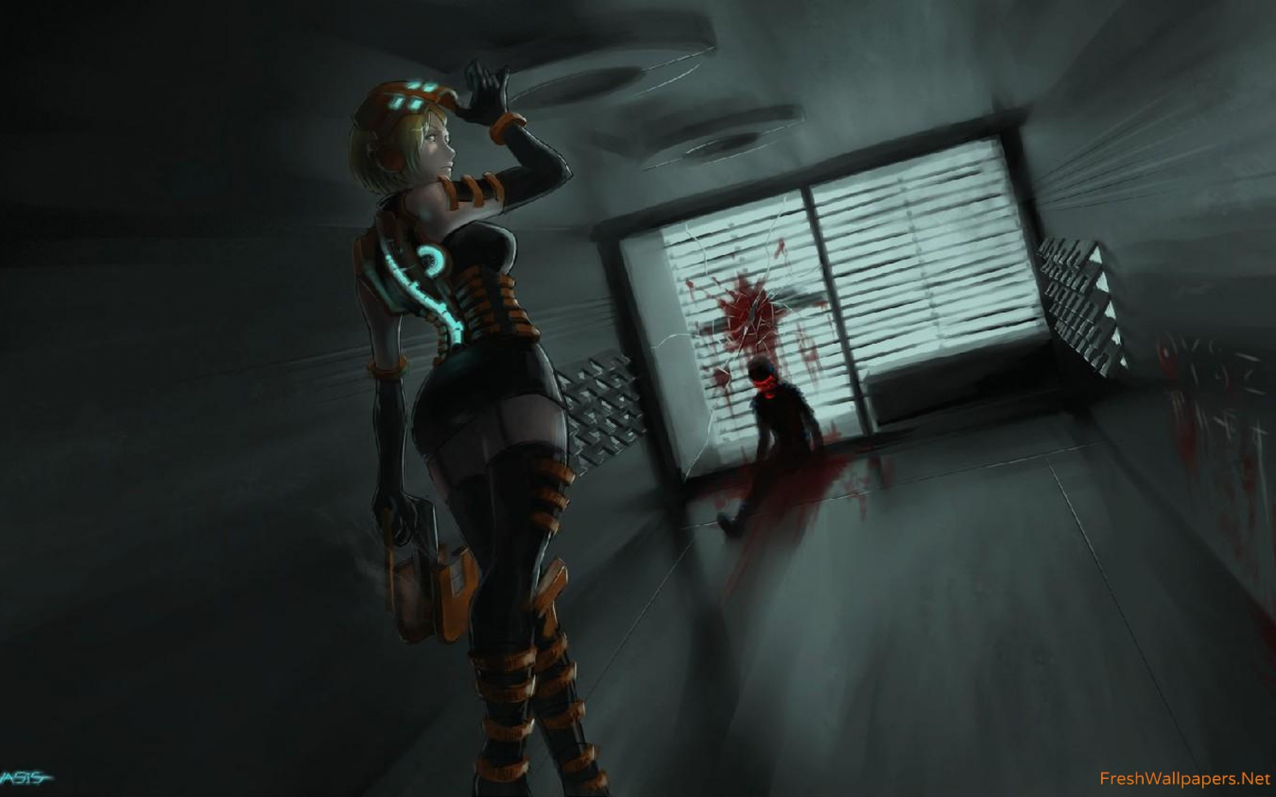 Res: 2560x1600, Dead Space wallpaper