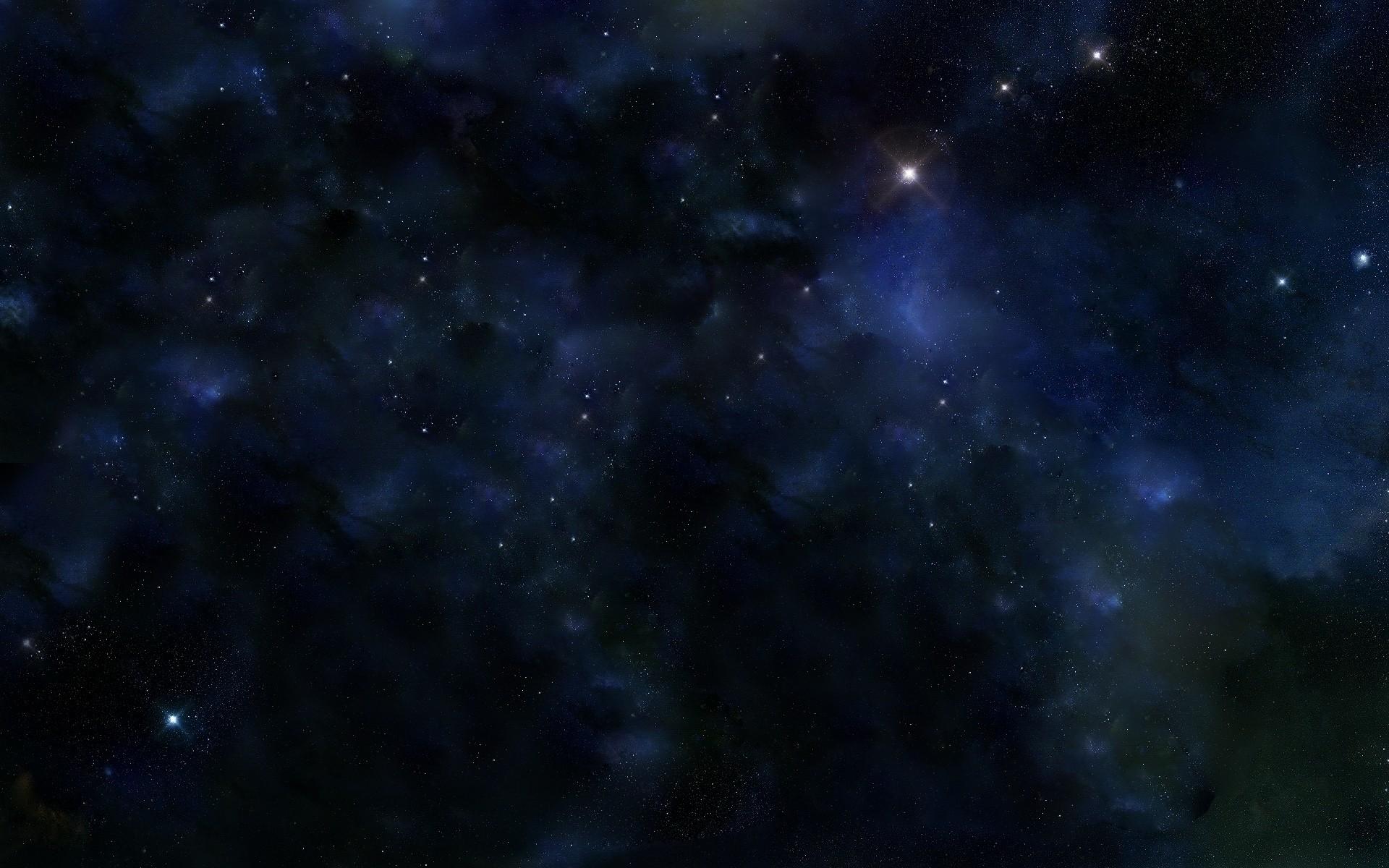 Res: 1920x1200, Dark Space Wallpaper