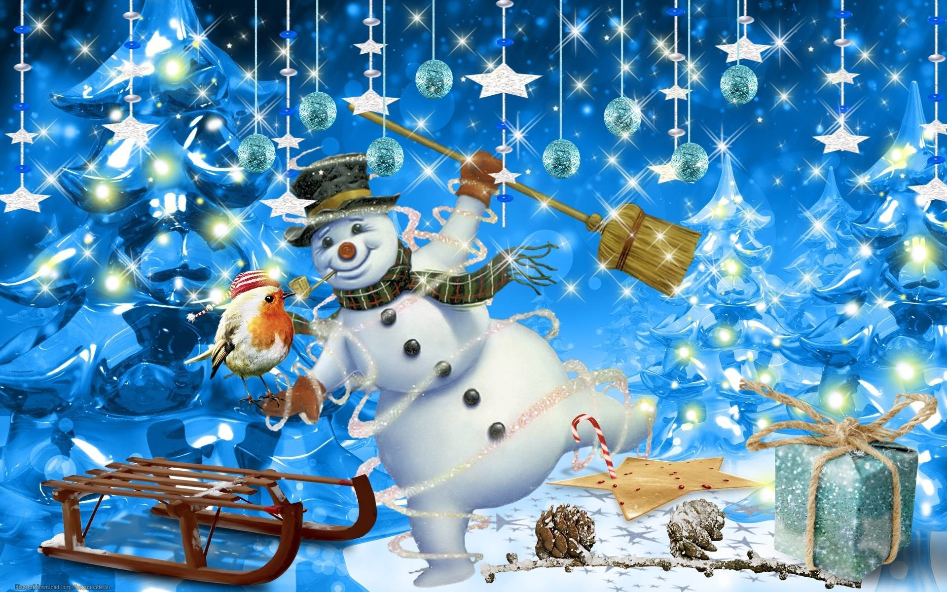 Res: 1920x1200, Frosty The Snowman Wallpaper Desktop - Viewing Gallery