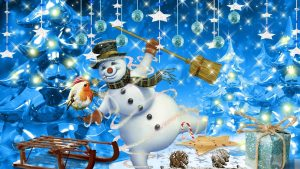 Country Snowman wallpapers