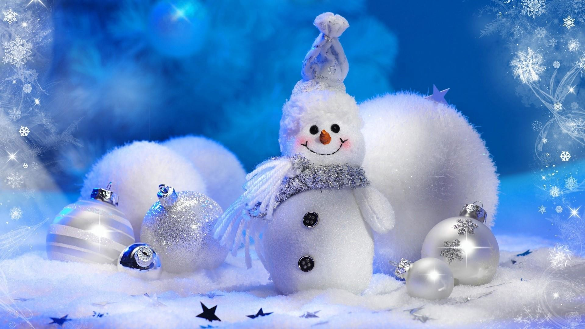 Res: 1920x1080, Snowman Christmas Decoration Wallpaper | Wallpaper Studio 10 | Tens of  thousands HD and UltraHD wallpapers for Android, Windows and Xbox