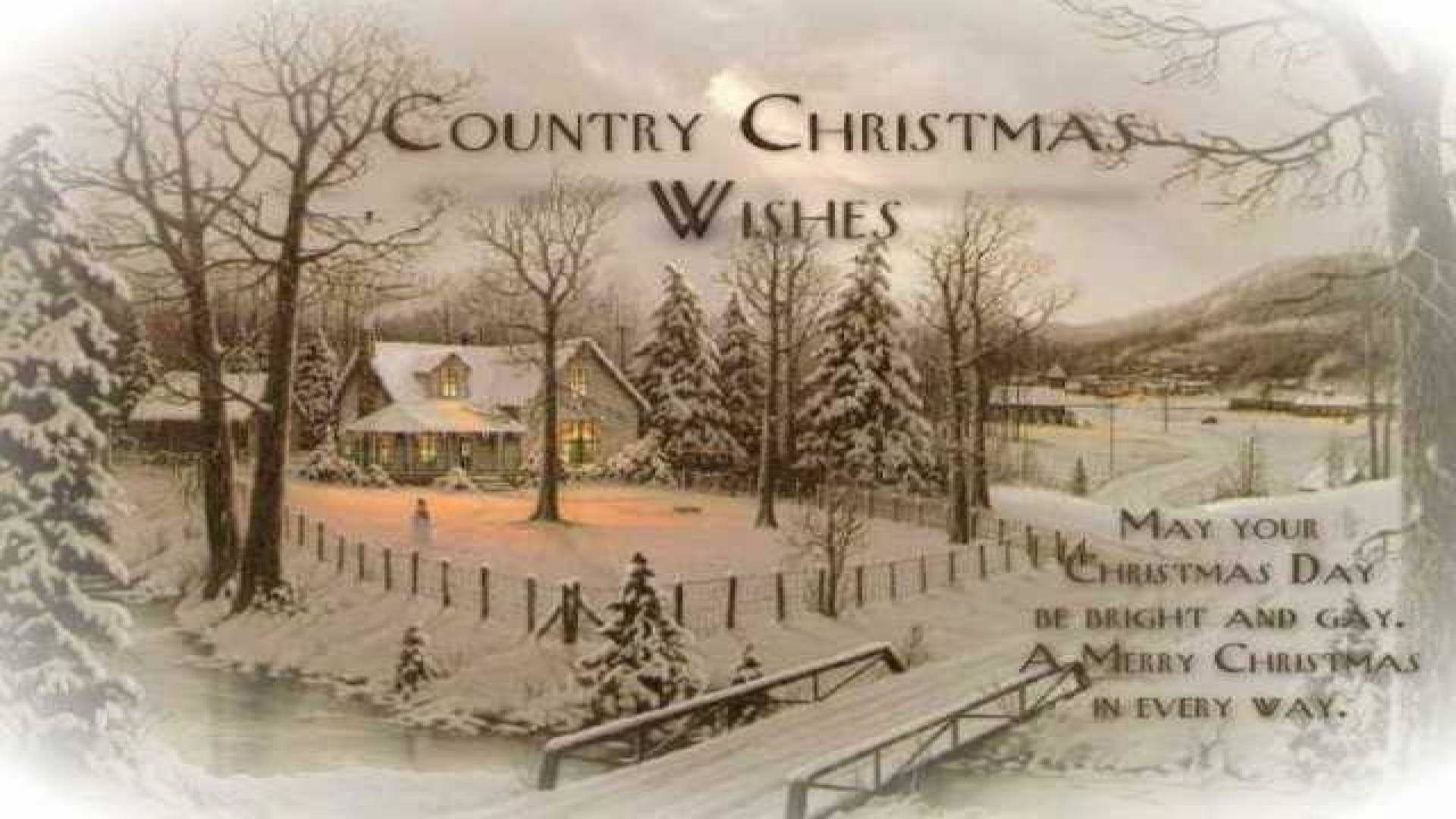 Res: 1920x1080, Country Christmas Wish Quotes