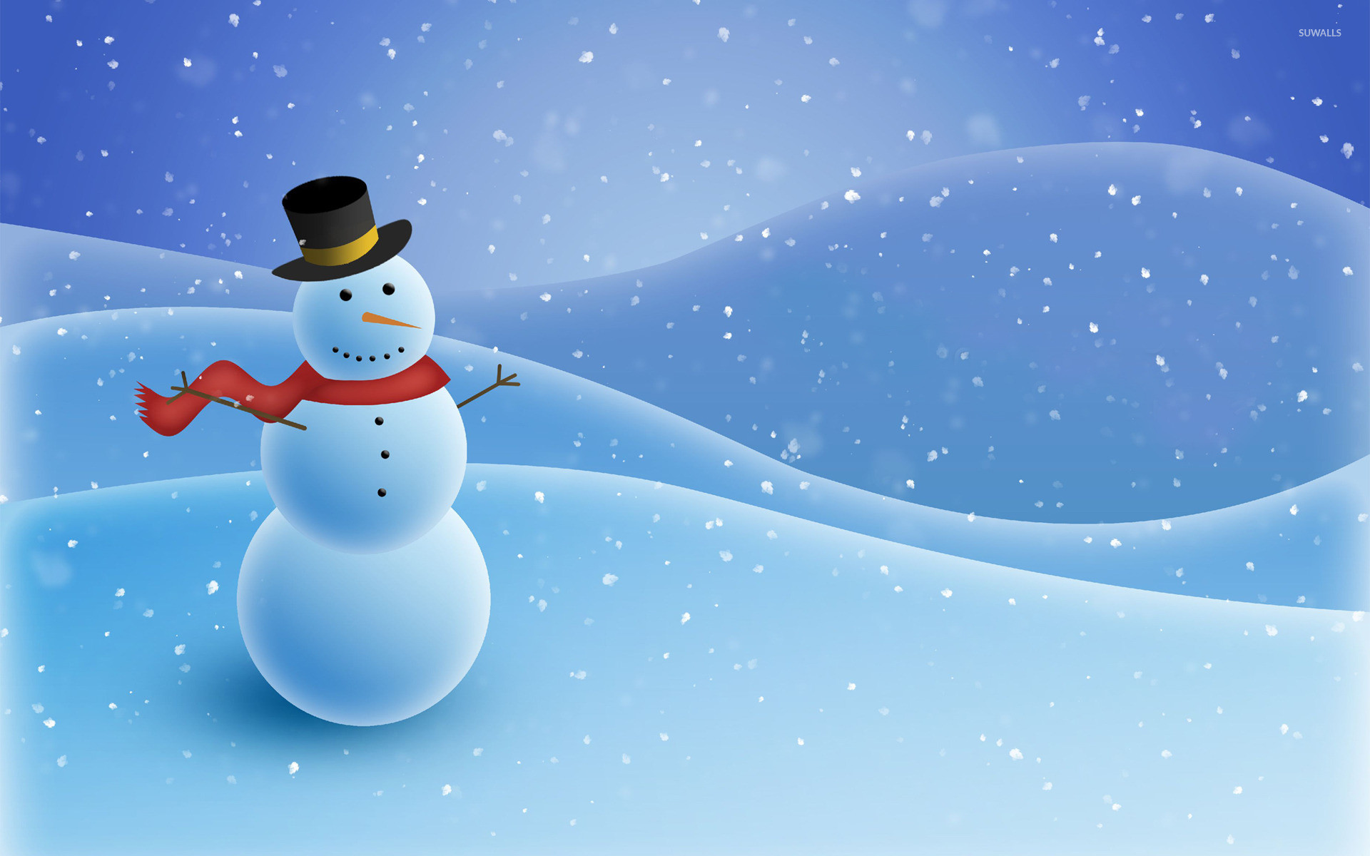 Res: 1920x1200, Winter Snowman Wallpapers - Wallpaper Cave