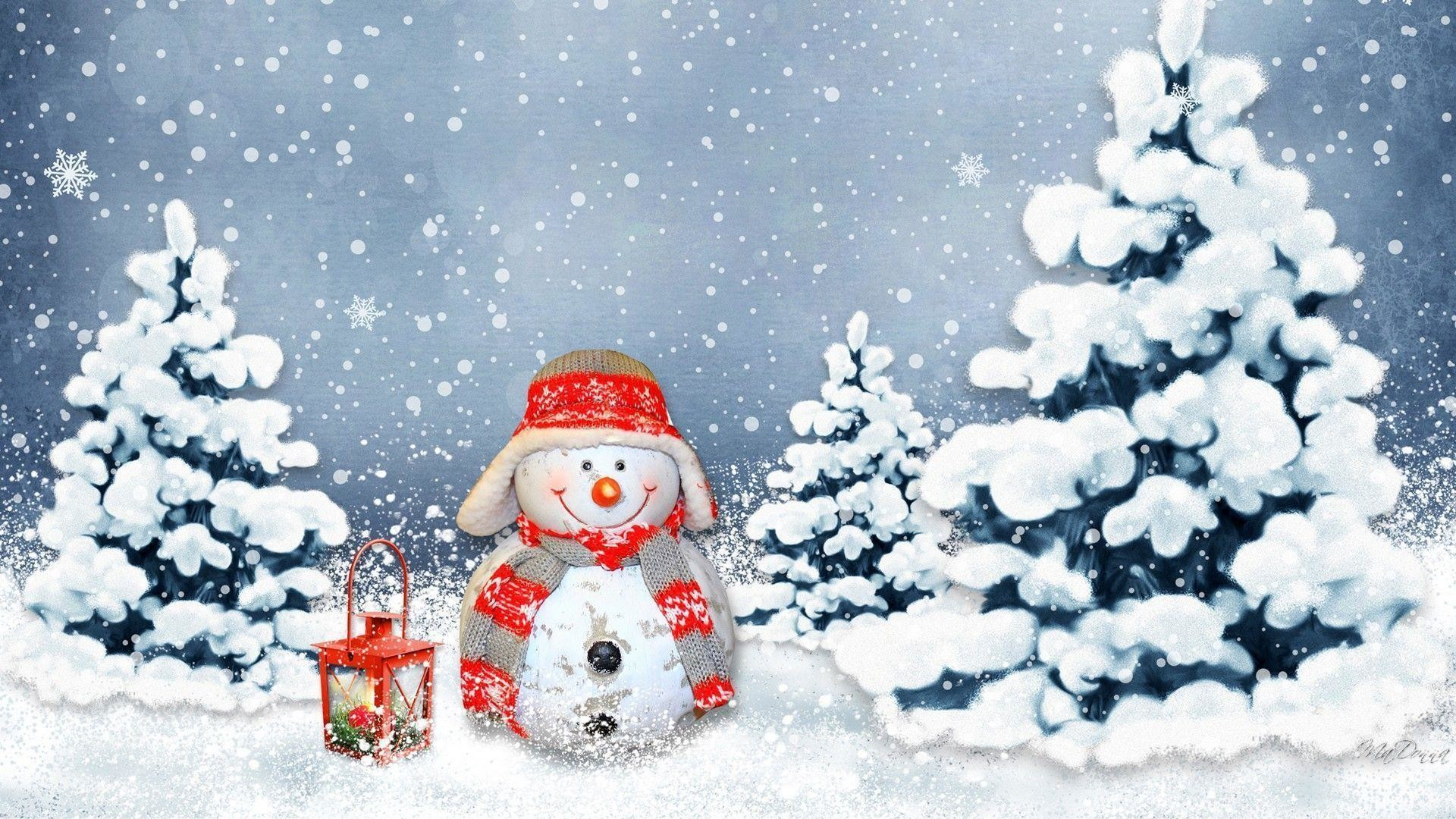 Res: 1920x1080, Winter Snowman Wallpapers - Wallpaper Cave