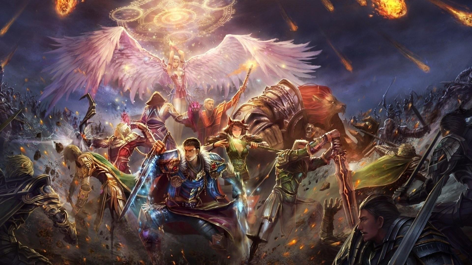 Res: 1920x1080, Computerspiele - Epic Battle Fantasy 4 Wallpaper