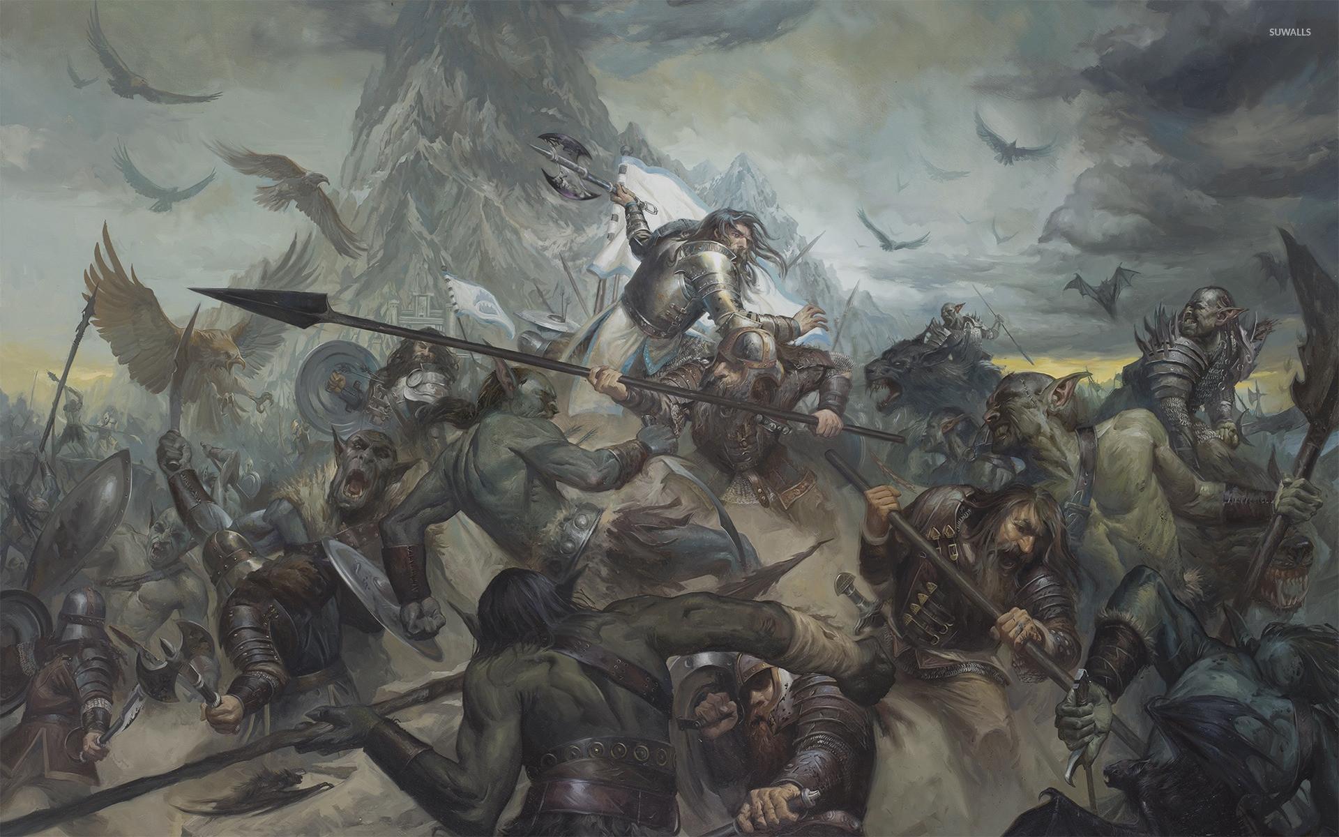 Res: 1920x1200, Epic battle [3] wallpaper
