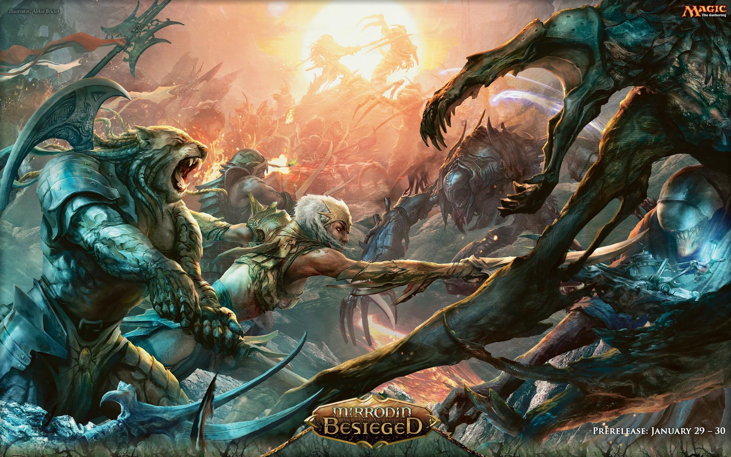 Res: 2560x1600, Epic Battle Wallpaper