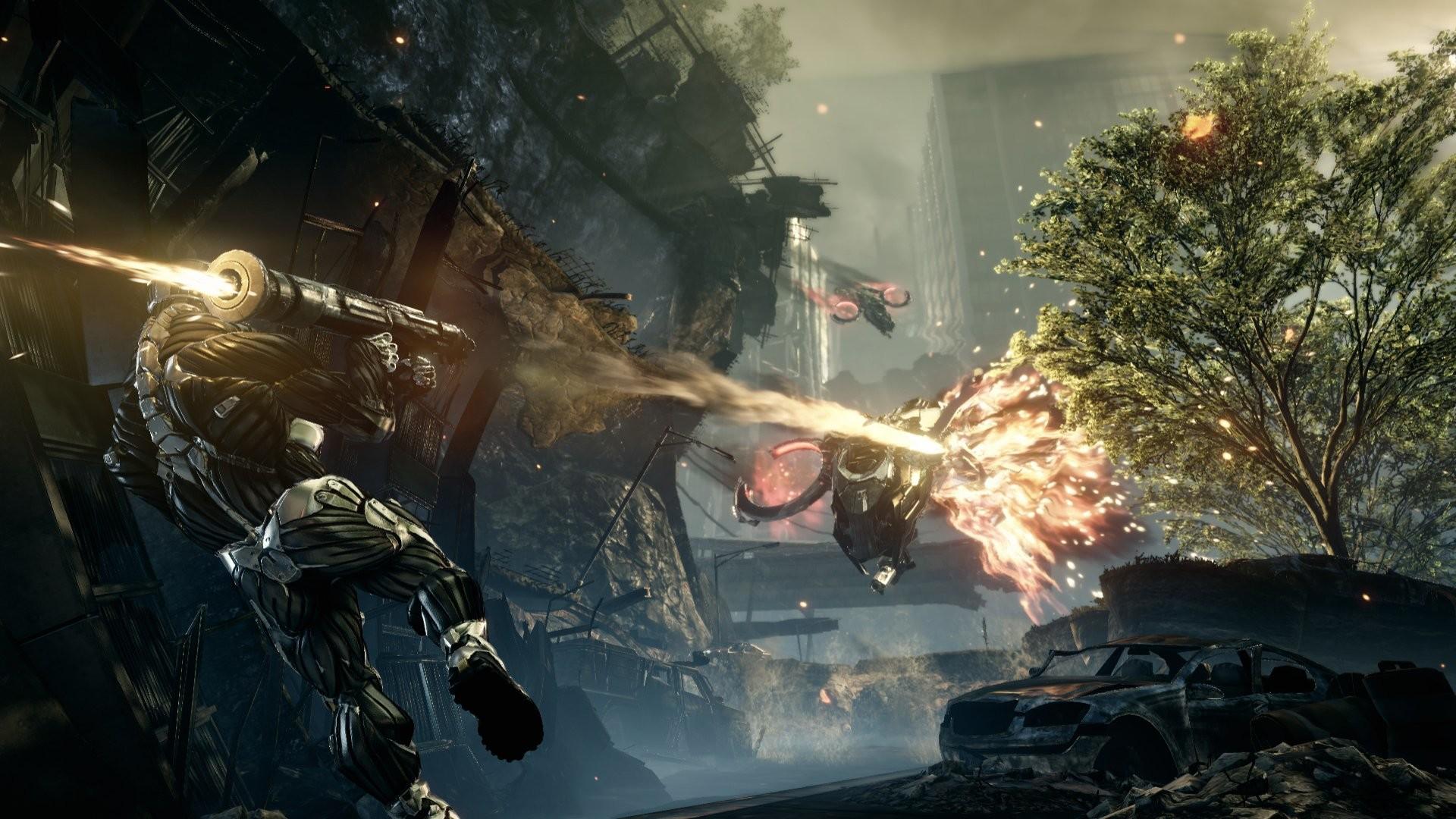 Res: 1920x1080, Video Game - Crysis 2 Crysis Crysis 3 Nanosuit Weapon Game Battle Wallpaper