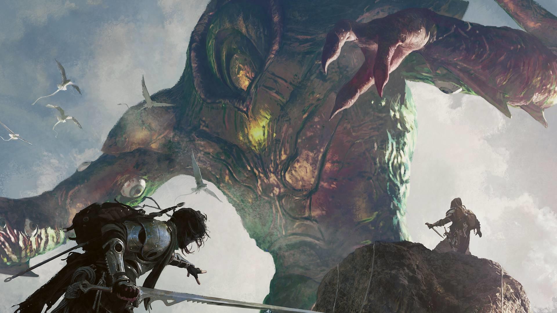 Res: 1920x1080, Fantasy god battle epic wallpaper HD.