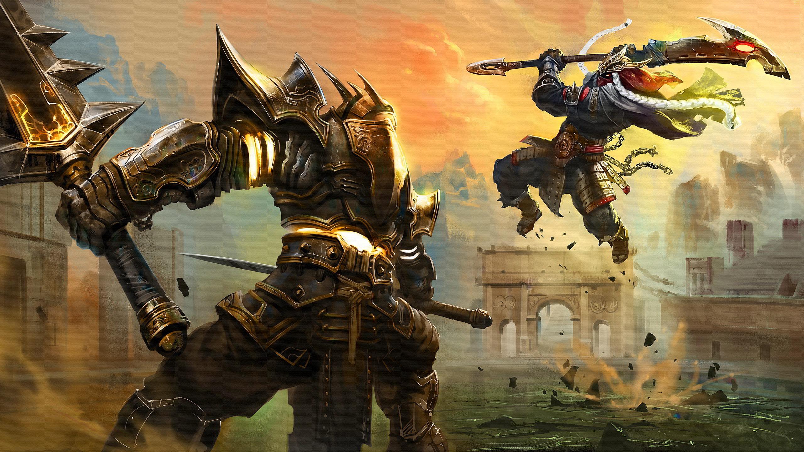 Res: 2560x1440, Battle