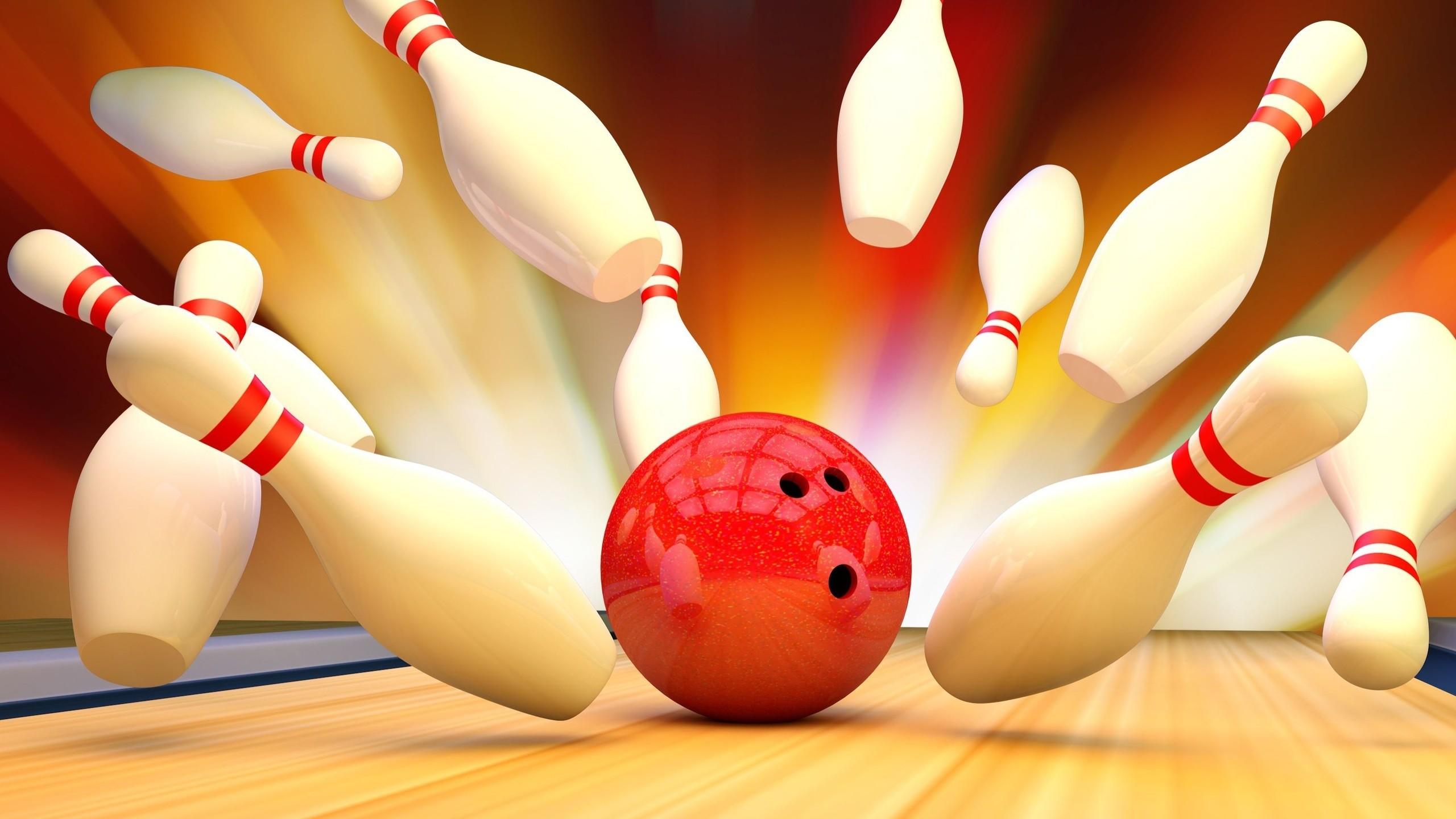 Res: 2560x1440, Bowling, Skittles, Bowling Art