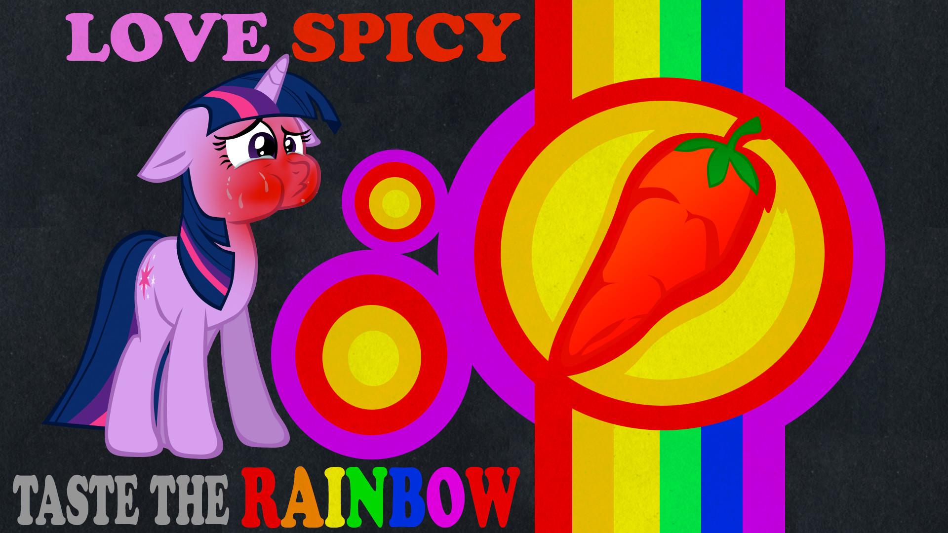 Res: 1920x1080, ... Taste the rainbow Twilight wallpaper dark by rhubarb-leaf