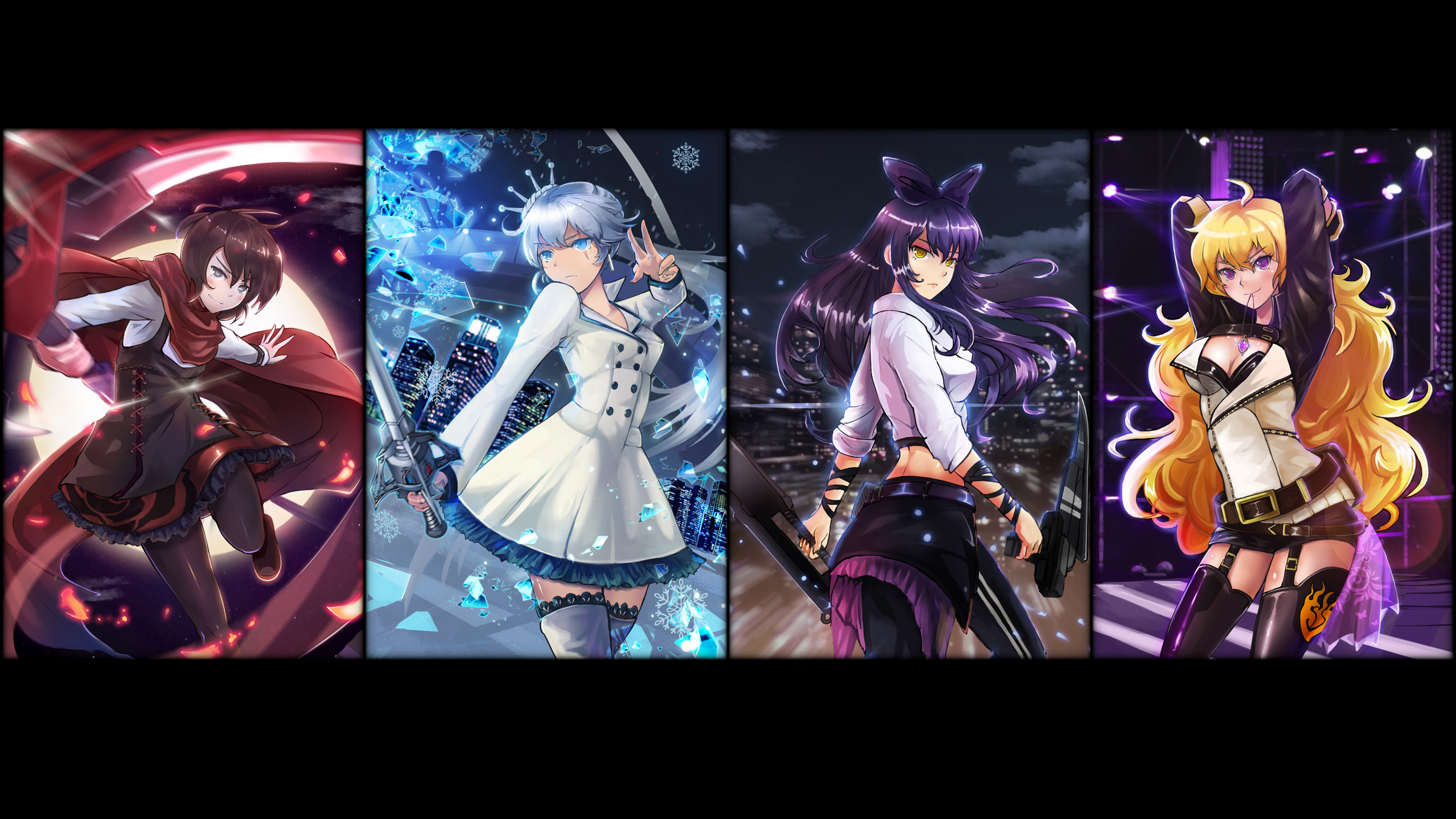 Res: 2736x1539, HD Wallpaper | Background Image ID:591599.  Anime RWBY