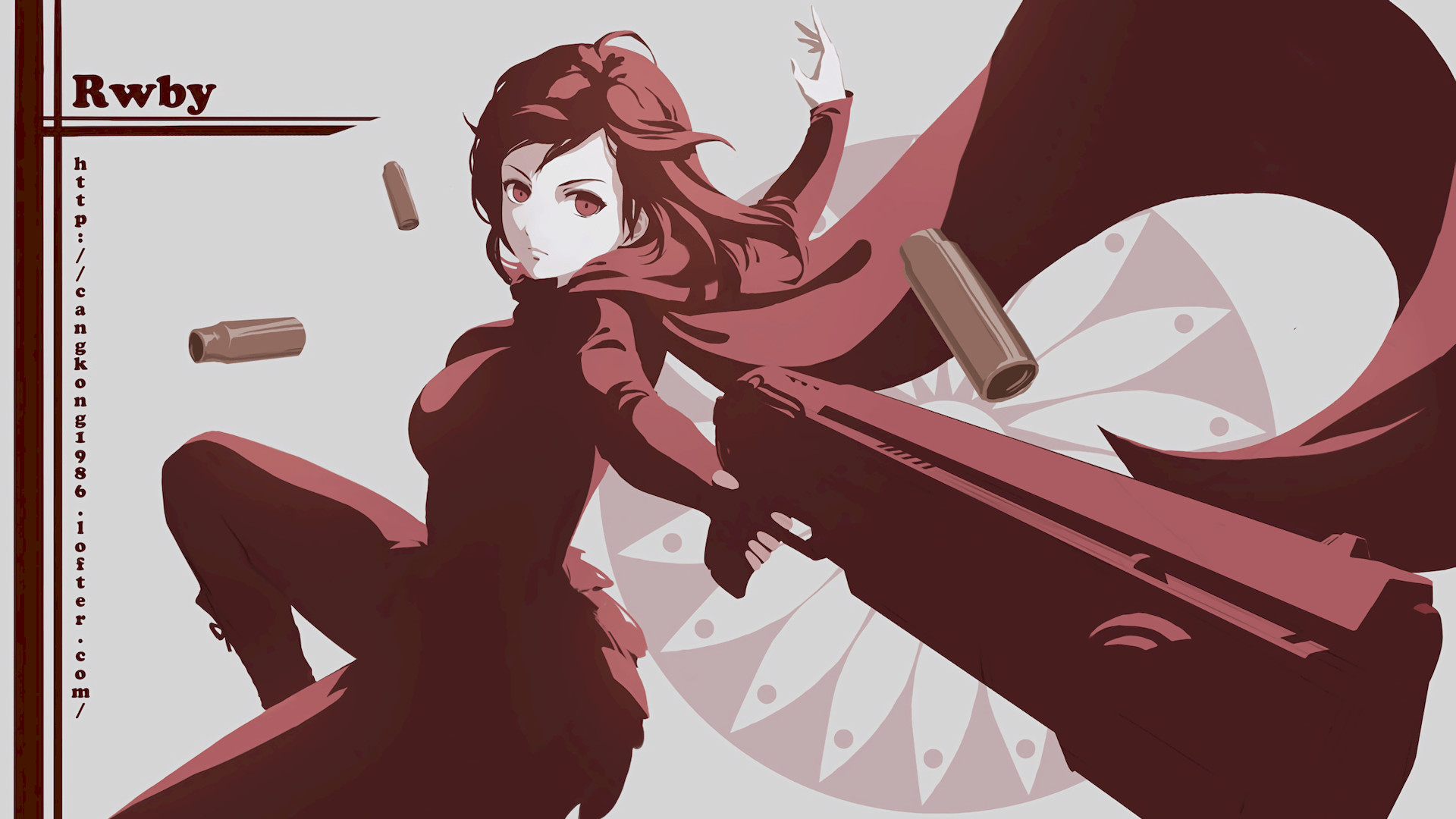 Res: 1920x1080, RWBY Ruby Rose 1080p HD Wallpaper Background