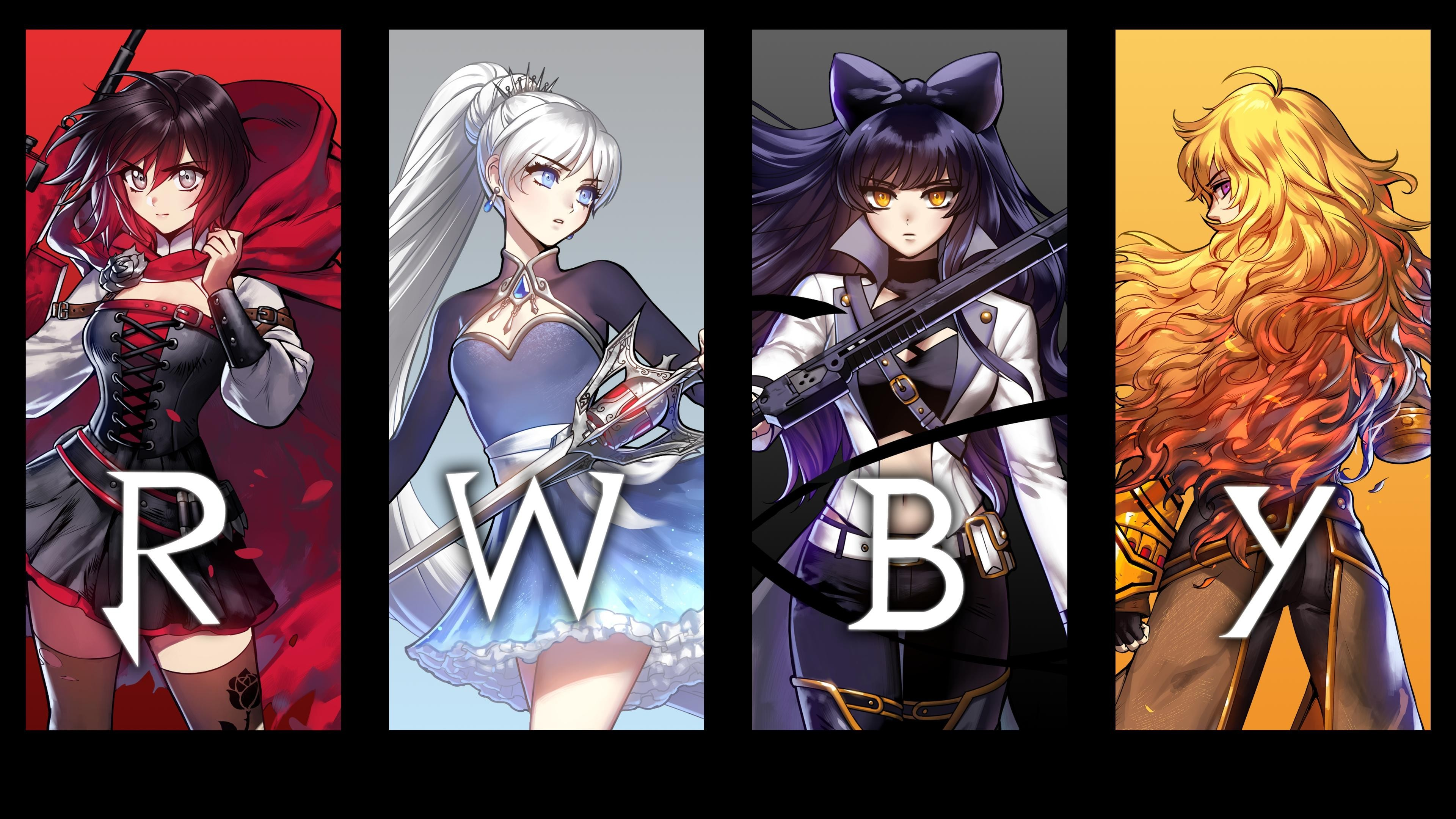 Res: 3840x2160, rwby-wallpaper-all-characters-38-WTG200630398