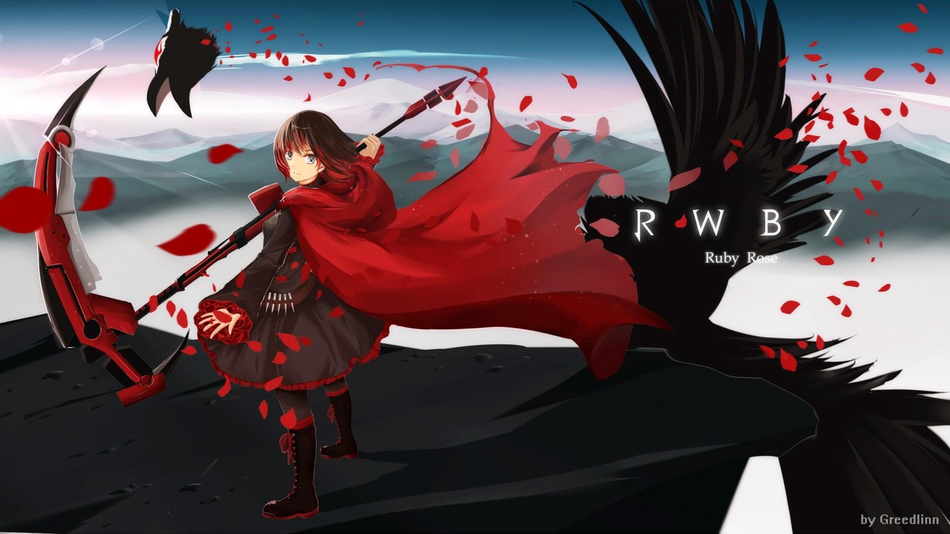Res: 1920x1080, ...  Ruby Rose wallpaper () RWBY