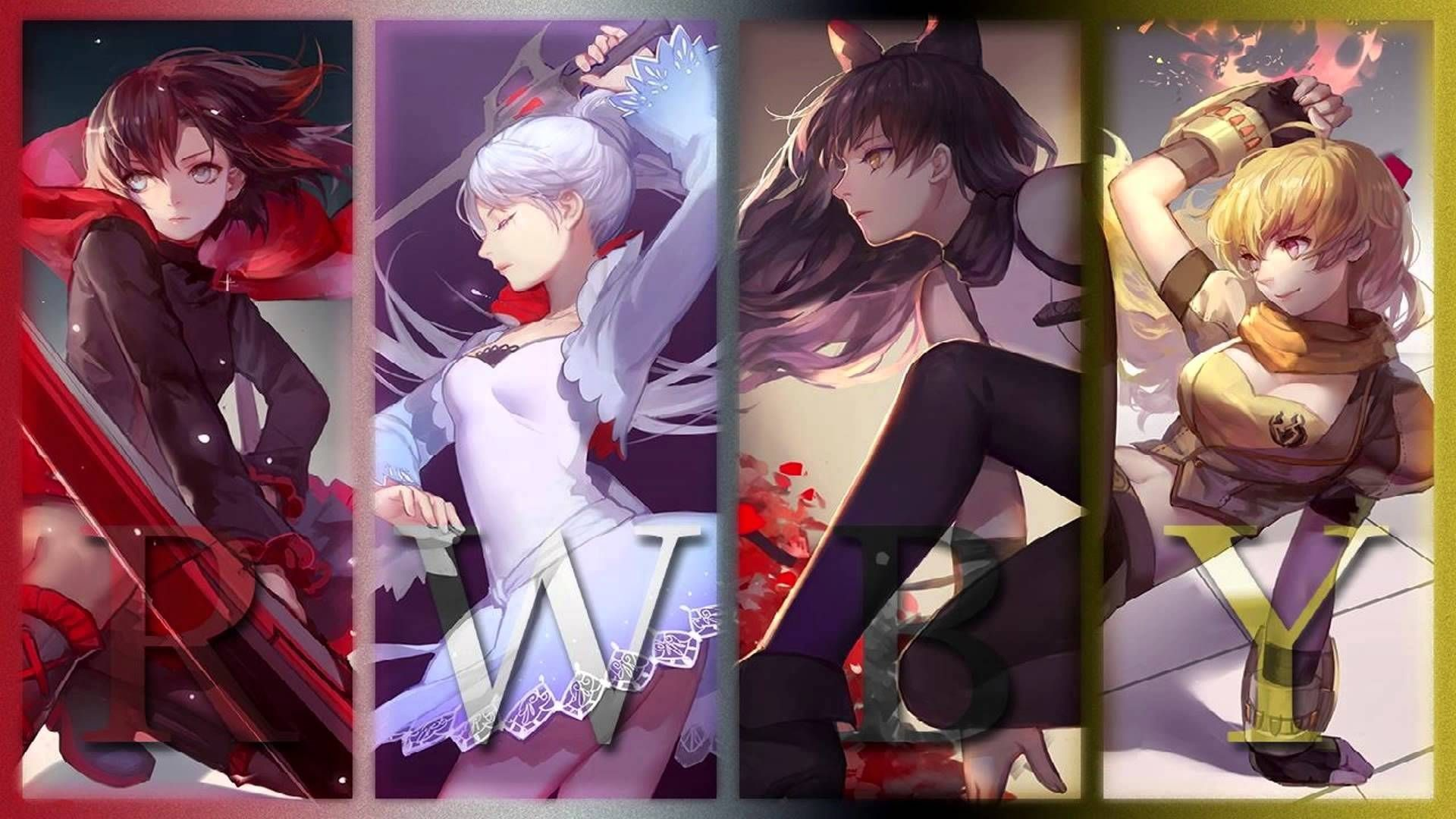 """Res: 1920x1080, A Nightcore (speed-edit) of """"I May Fall"""", the ending song from RWBY Episode  (brace for major chills at ^^) Volume 2 can't come soon enough ;"""
