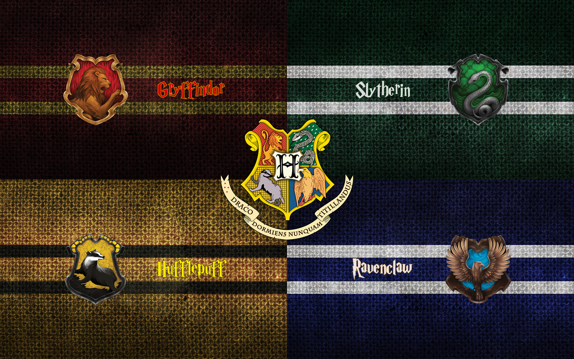 Res: 1920x1200, Harry Potter: Hogwarts Houses () : wallpapers