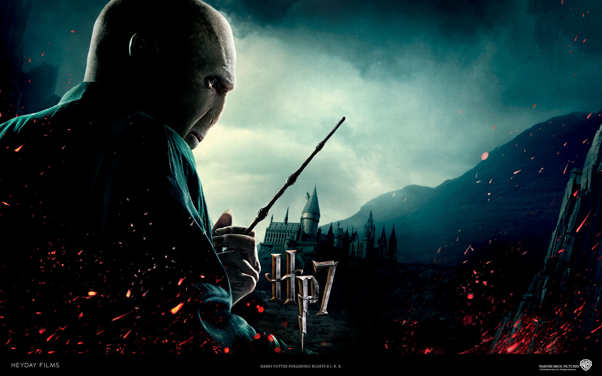 Res: 1920x1200, Lord Voldemort from Harry Potter and the Deathly Hallows wallpaper