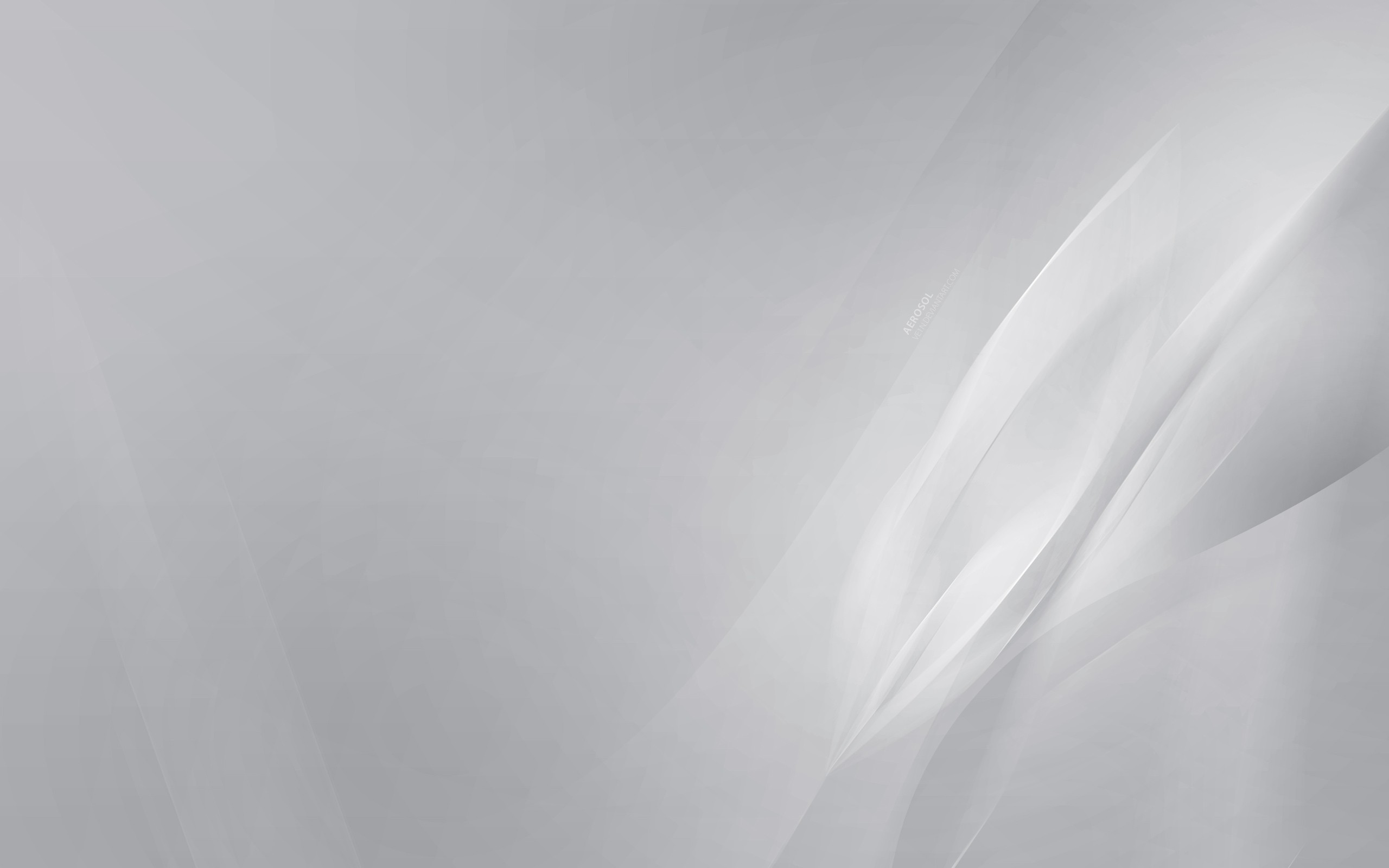 Res: 2560x1600, Light Grey Background ...