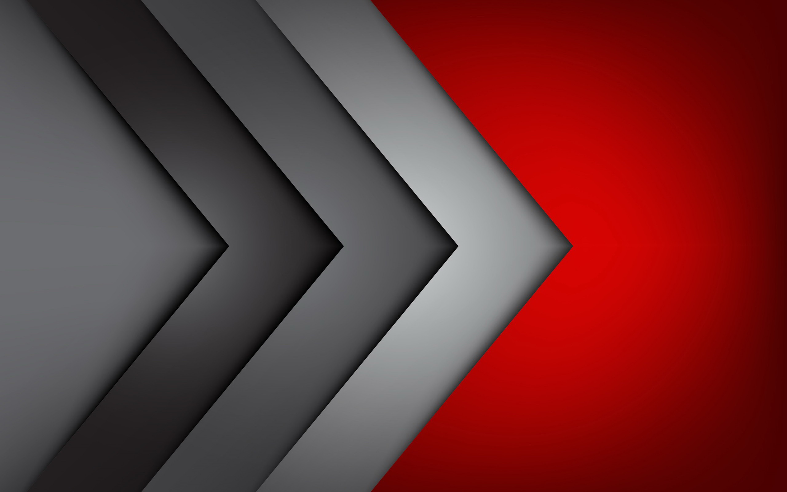 Res: 2560x1600, Red Grey Wallpapers