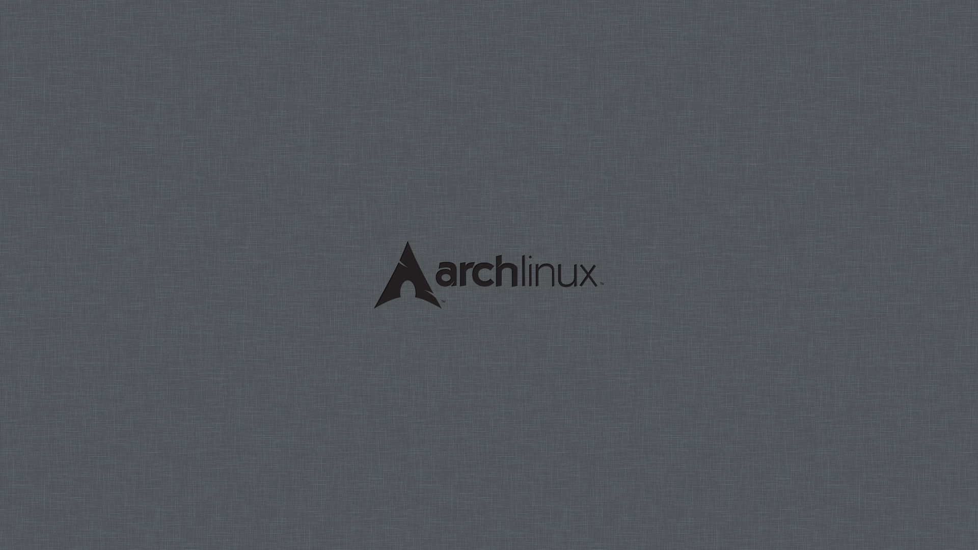 Res: 1920x1080, Linux arch grey background operational sistem wallpaper