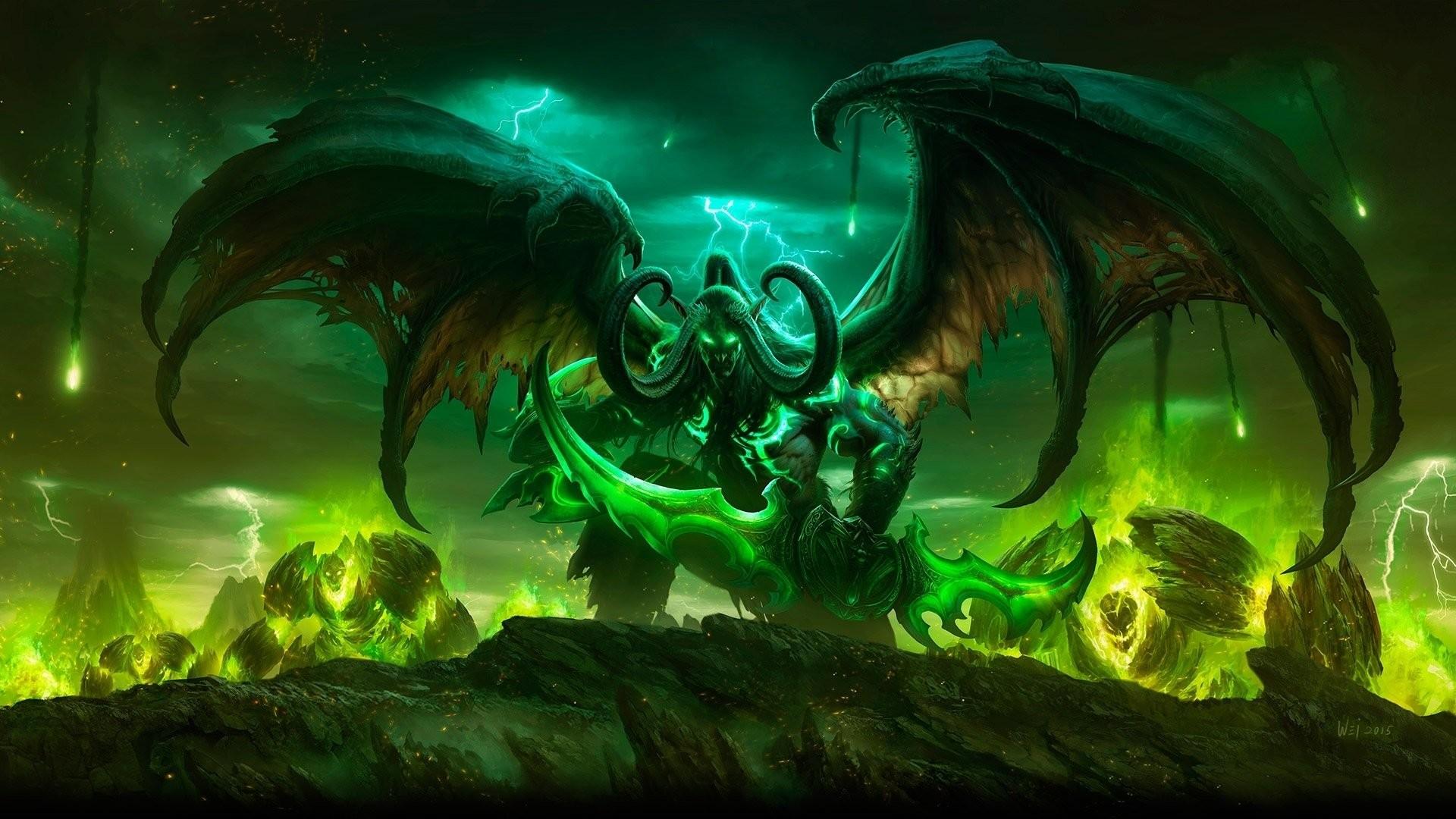 Res: 1920x1080, Computerspiele - World of Warcraft: Legion Wallpaper