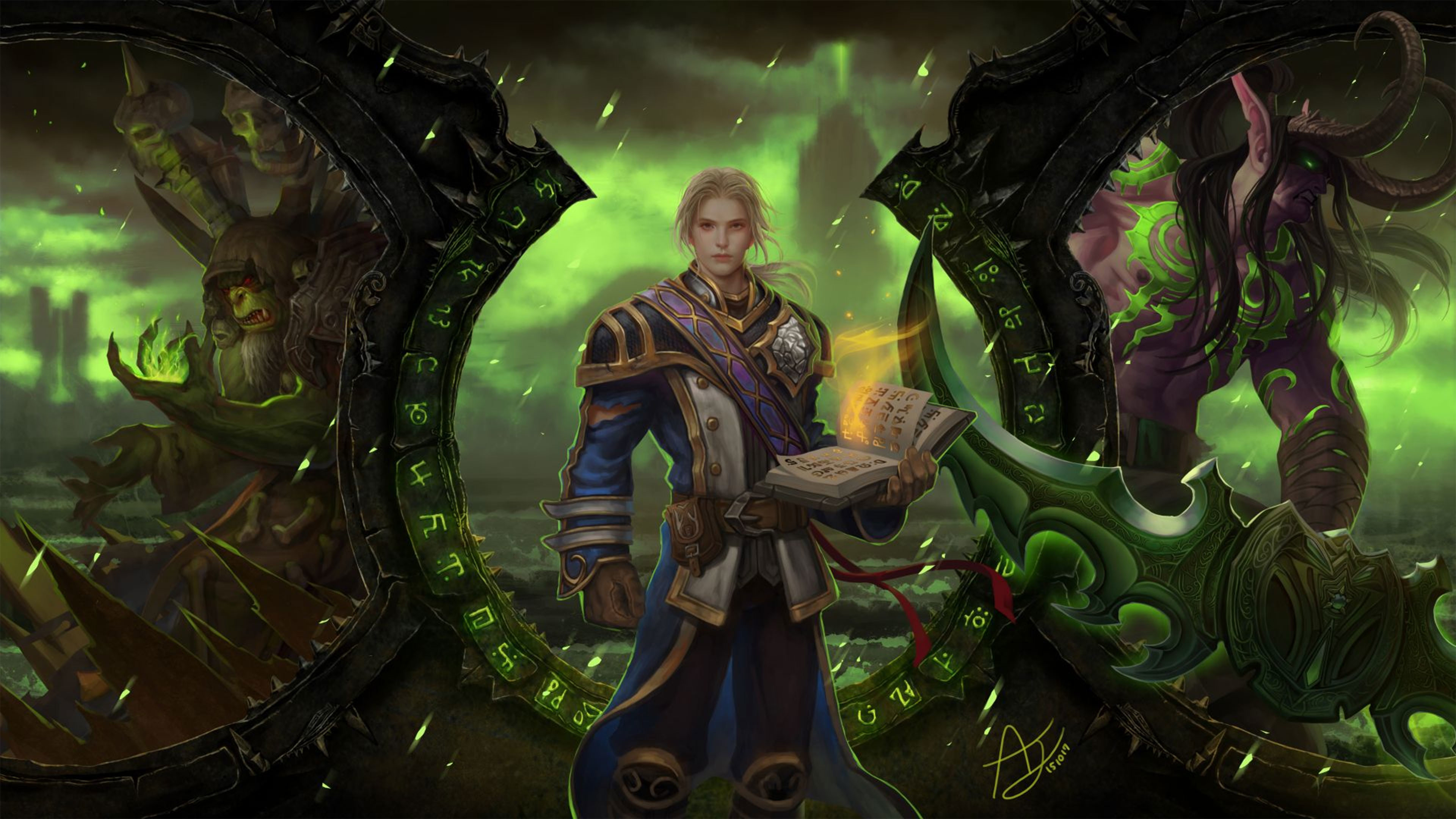 Res: 3840x2160, World of Warcraft Legion 4K Wallpaper ...
