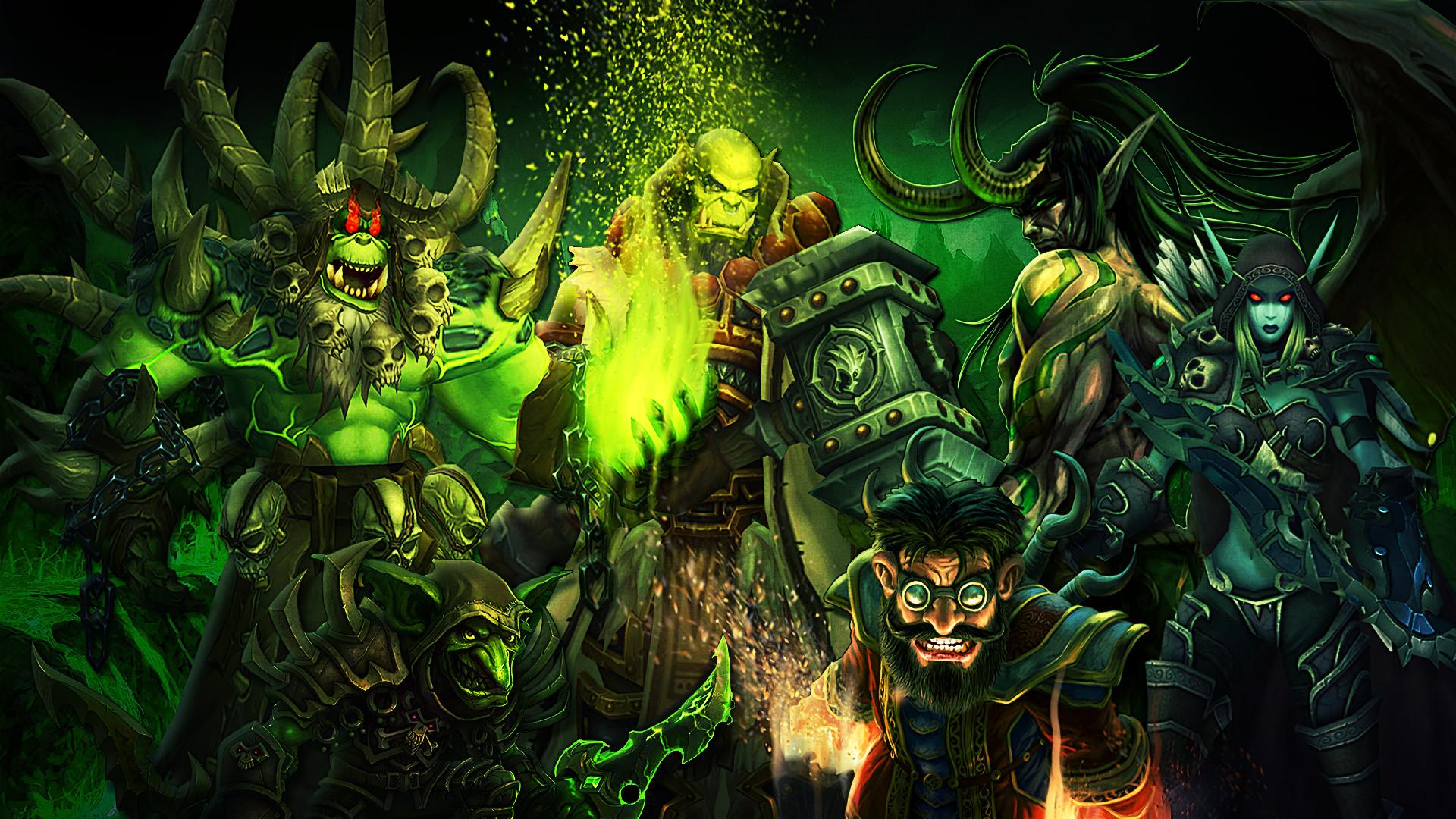 Res: 1920x1080, Computerspiele - World of Warcraft: Legion Warcraft Universe Wallpaper