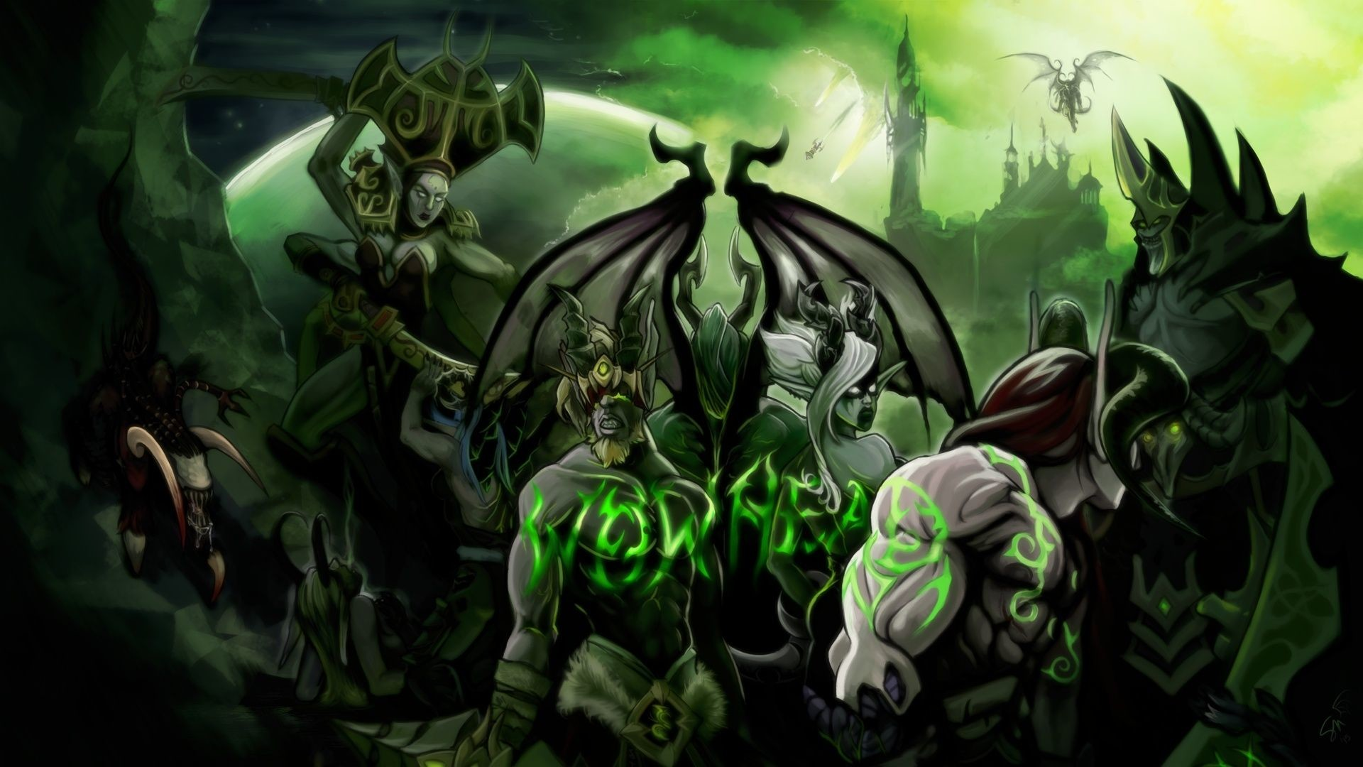 Res: 1920x1080, wow legion wallpaper images HD Wallpapers Buzz 2560×1440 Legion Wallpapers  (37 Wallpapers)