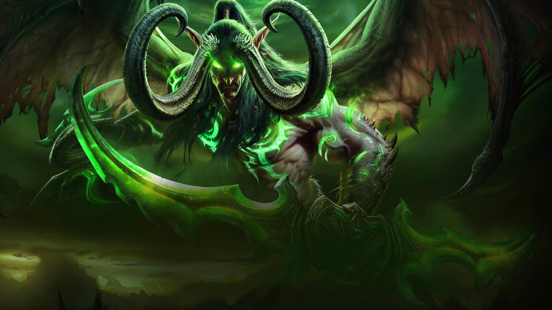 Res: 1920x1080,  World of Warcraft Legion - Demon Hunter  wallpaper