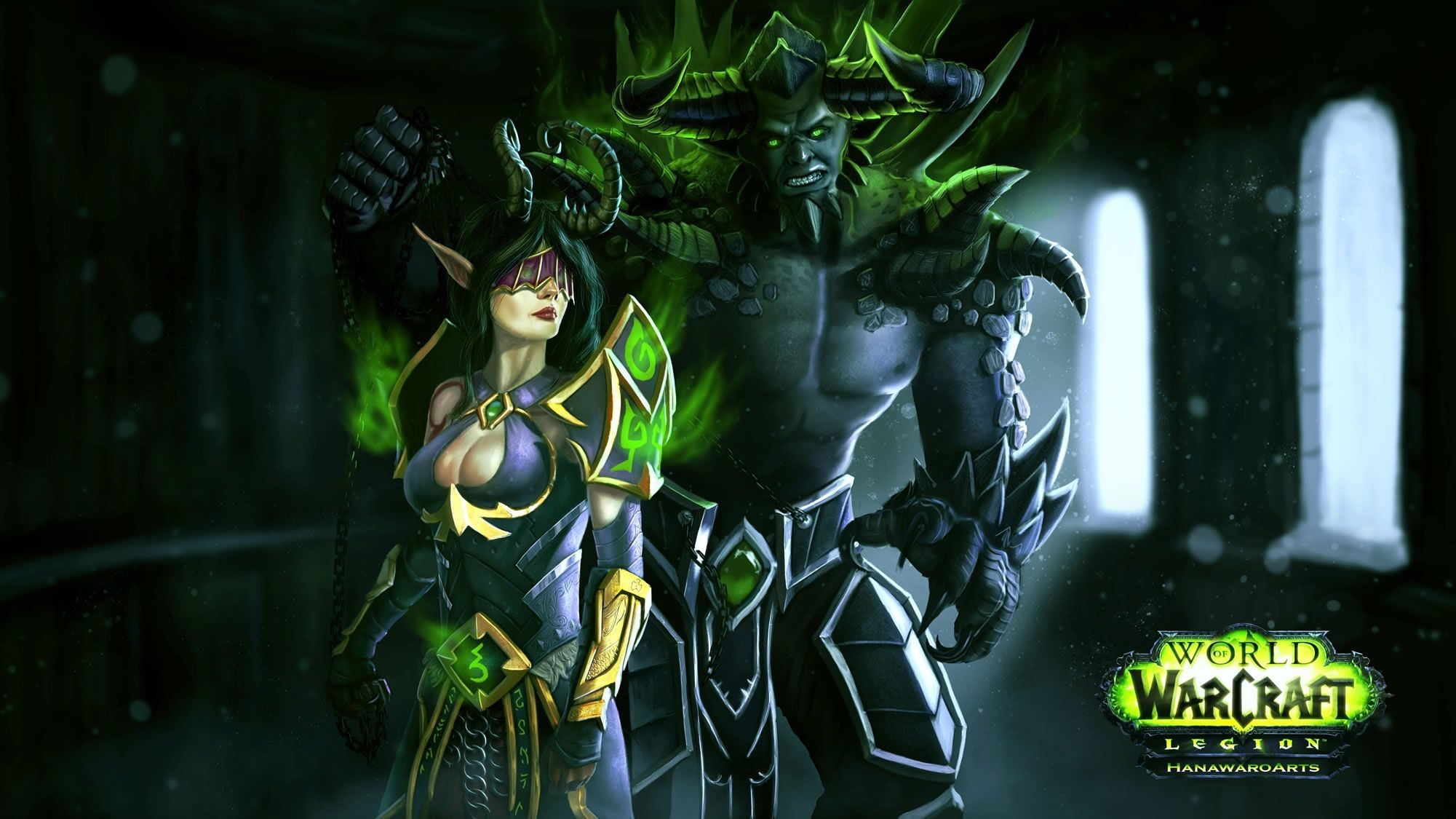 Res: 2001x1125, Full HD p World of warcraft Wallpapers HD, Desktop Backgrounds World of  Warcraft Legion Wallpapers Wallpapers)