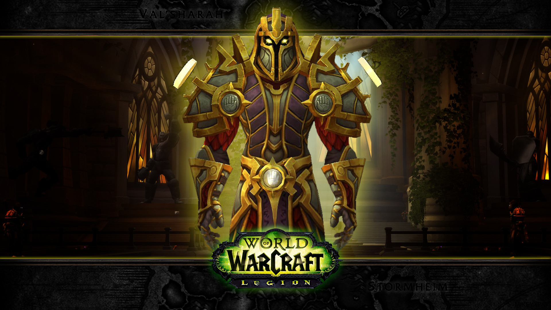 Res: 1920x1080, Wow Legion Paladin Center by mikeyxpat Wow Legion Paladin Center by  mikeyxpat
