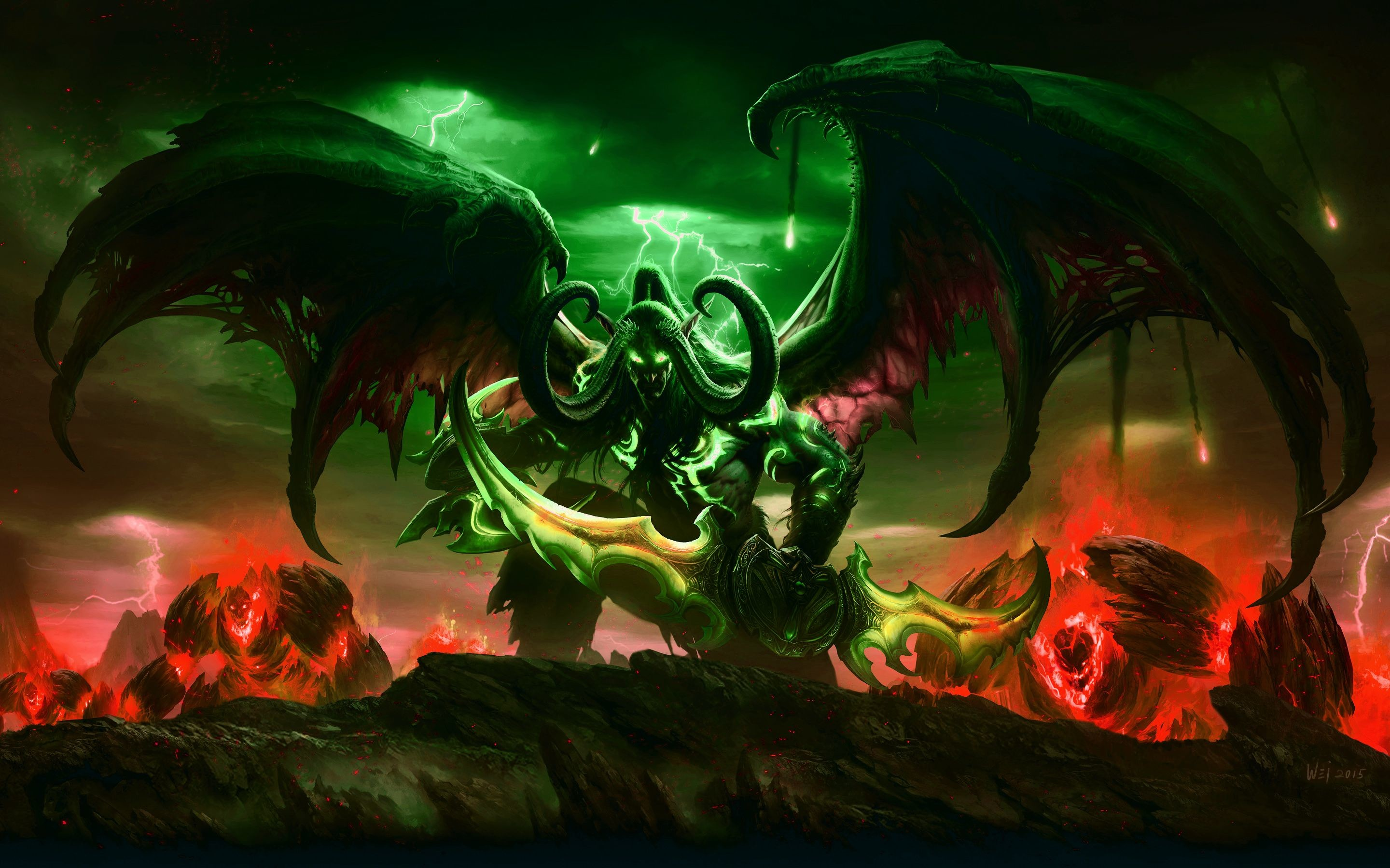 Res: 2880x1800, Download World of Warcraft Legion wallpaper