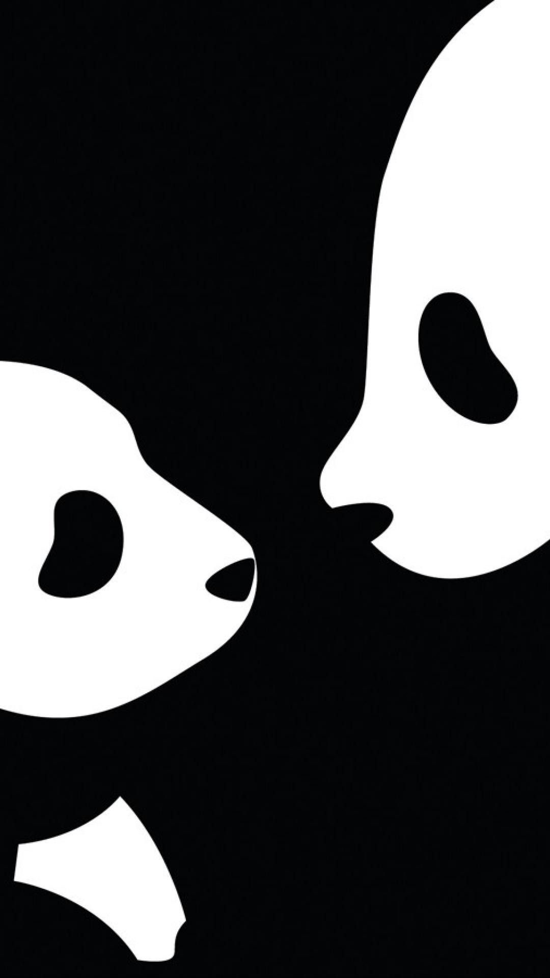 Res: 1080x1920, Black and White Panda iPhone Wallpaper - Best iPhone Wallpaper