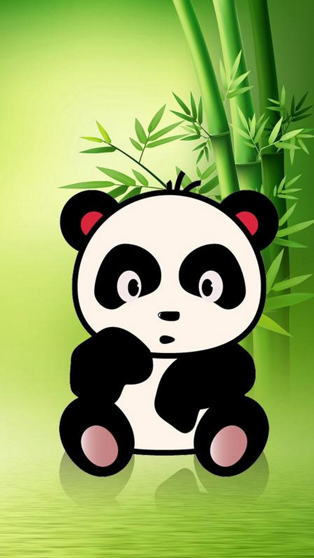 Res: 1080x1920, iPhone X Cute Panda Wallpaper