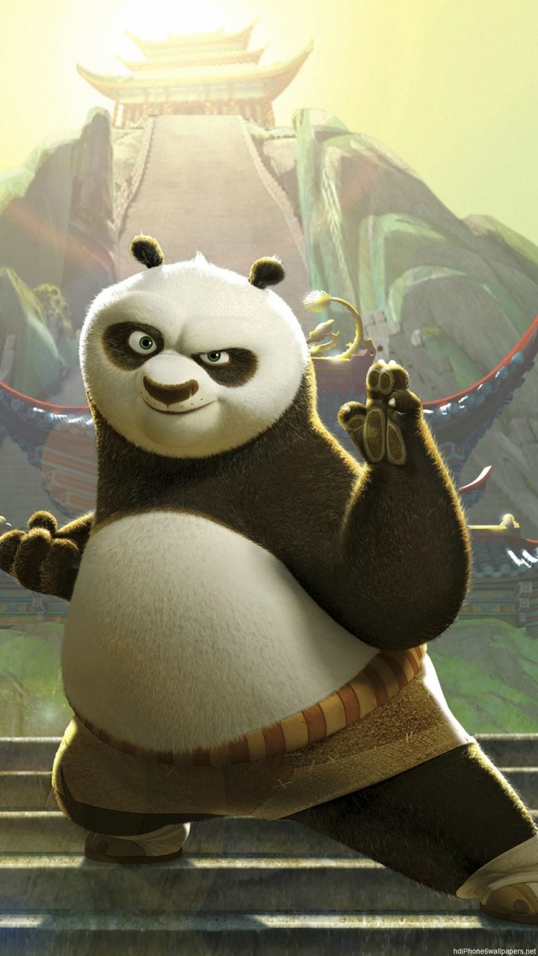 Res: 1080x1920,  Kung Fu Panda iPhone 6 wallpapers HD - 6 Plus backgrounds