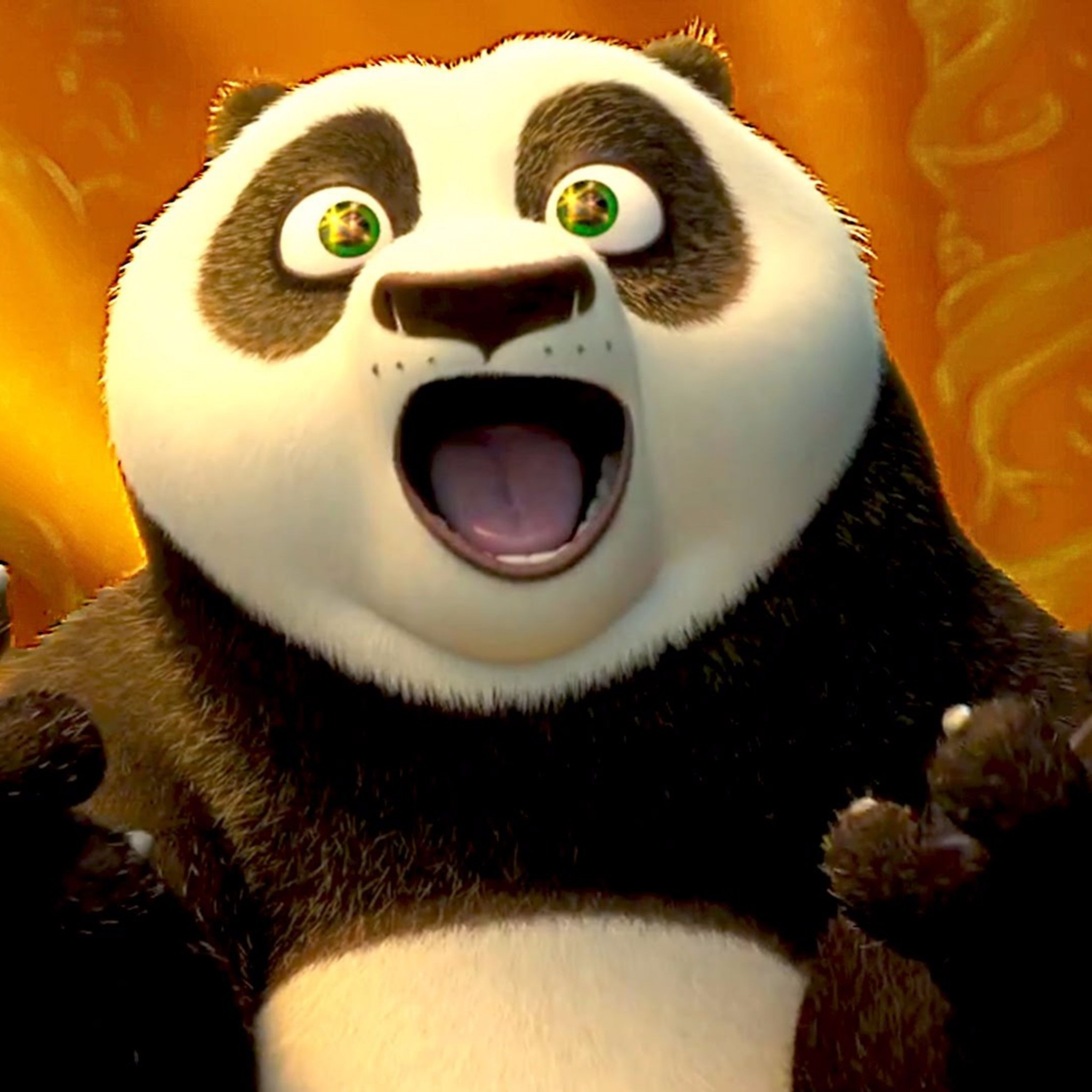 Res: 2048x2048, Related to Release Date Kung Fu Panda 3 Movie 4K Wallpapers