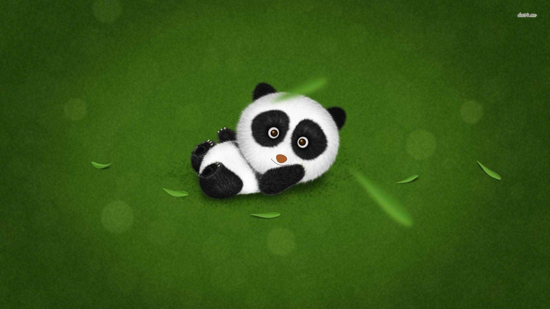 Res: 1920x1080, Cute Panda Wallpaper Computer Screen Backgrounds Baby For Iphone