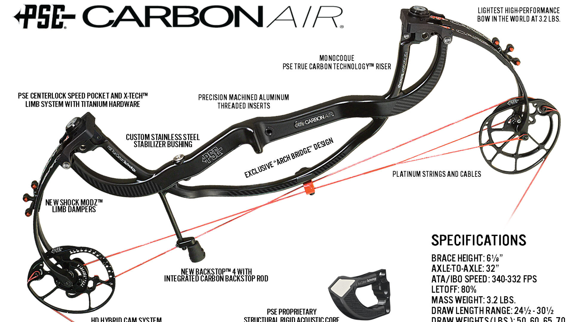 Res: 1920x1080, PSE releasing new, lightweight Carbon Air compound bow | Other Sports |  Sporting News