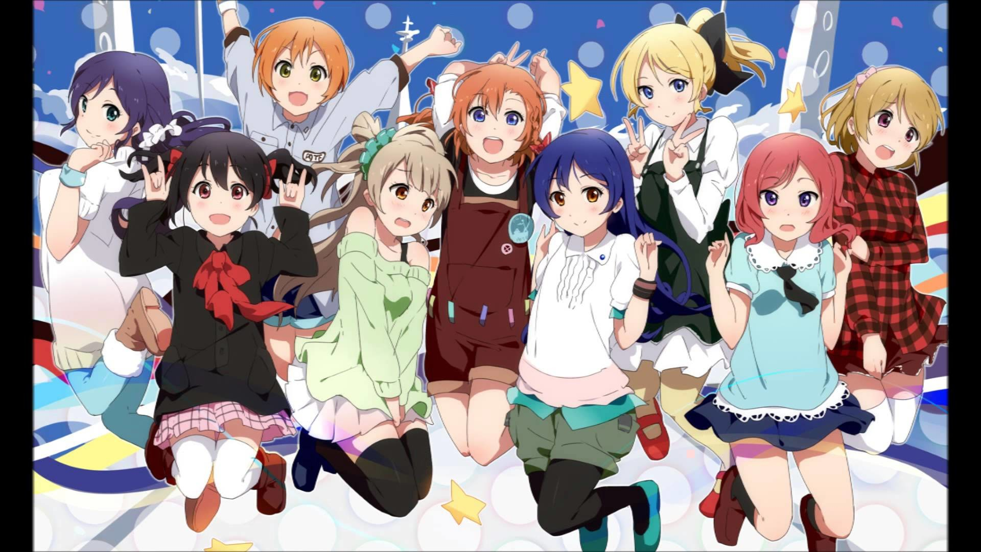 Res: 1920x1080, love live muse Graduation Song friend forever slideshow