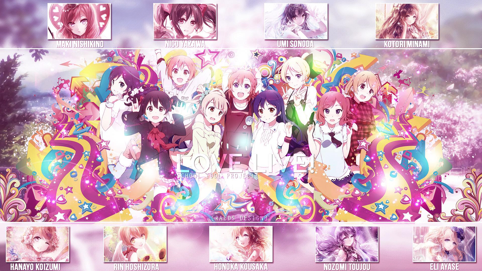 Res: 1920x1080, School Idol Project by kikiaryos Wallpaper - Love Live! School Idol Project  by kikiaryos