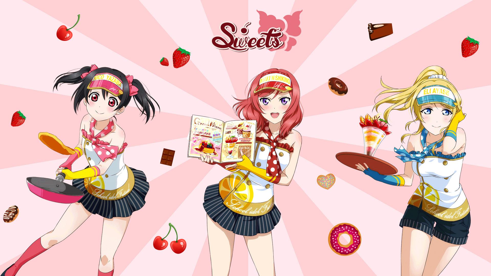Res: 1920x1080, ... School Idol Love Live Wallpaper - Bibi's Candy by torymels