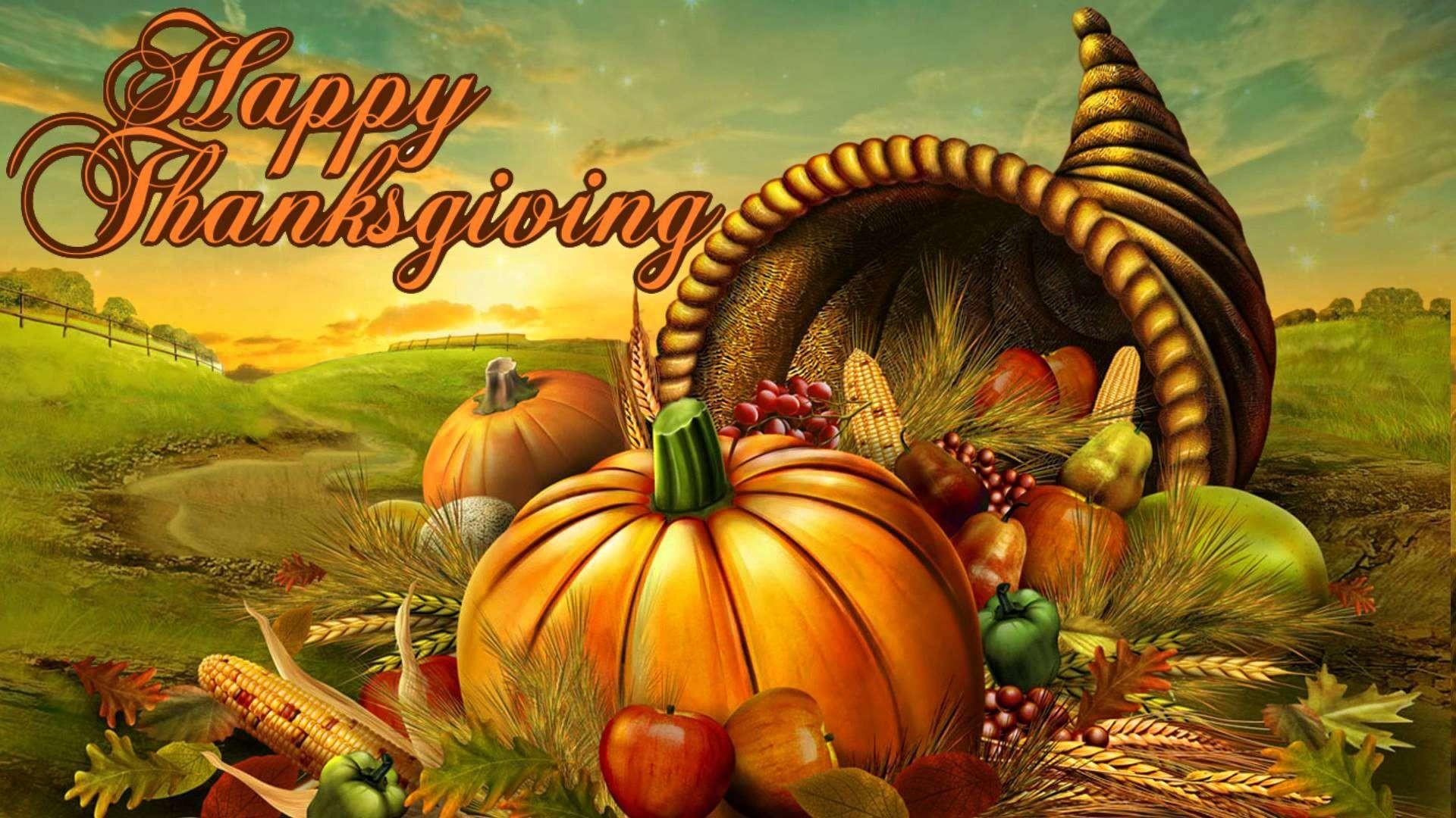Res: 1920x1080, Thanksgiving Full HD Wallpaper